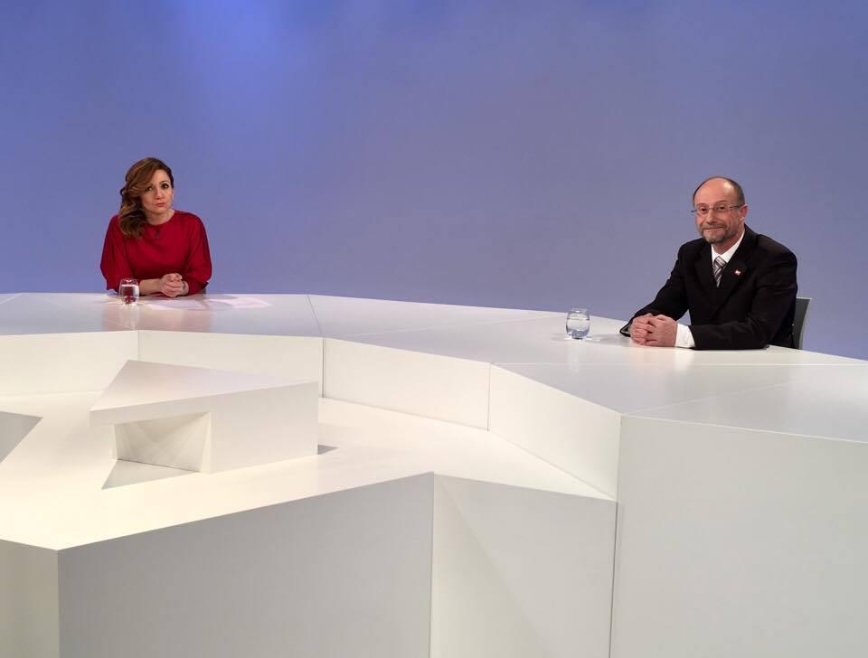 Entrevista al president suplent del grup mixt, el conseller d'SDP Víctor Naudi