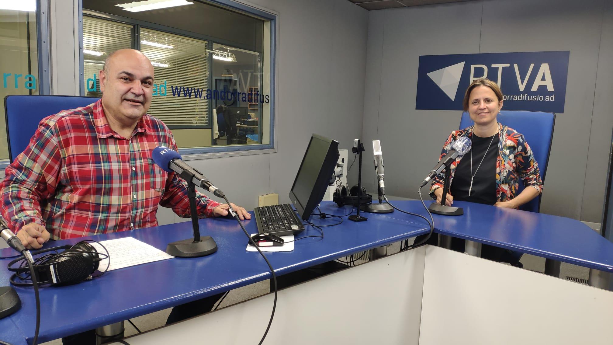 Entrevista a la cònsol major d'Escaldes-Engordany, Rosa Gili