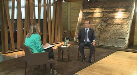 Entrevista a François Hollande
