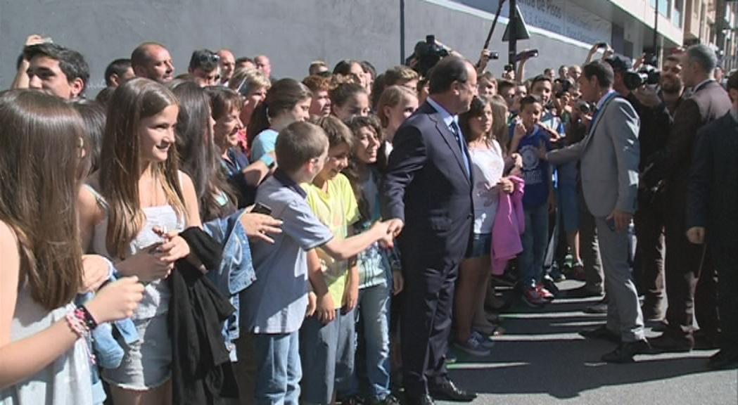Especial visita François Hollande 3a hora