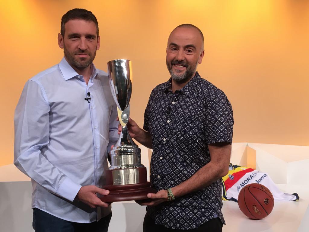 Dia E 1a part - Entrevista a Ibon Navarro després de guanyar la lliga Catalana