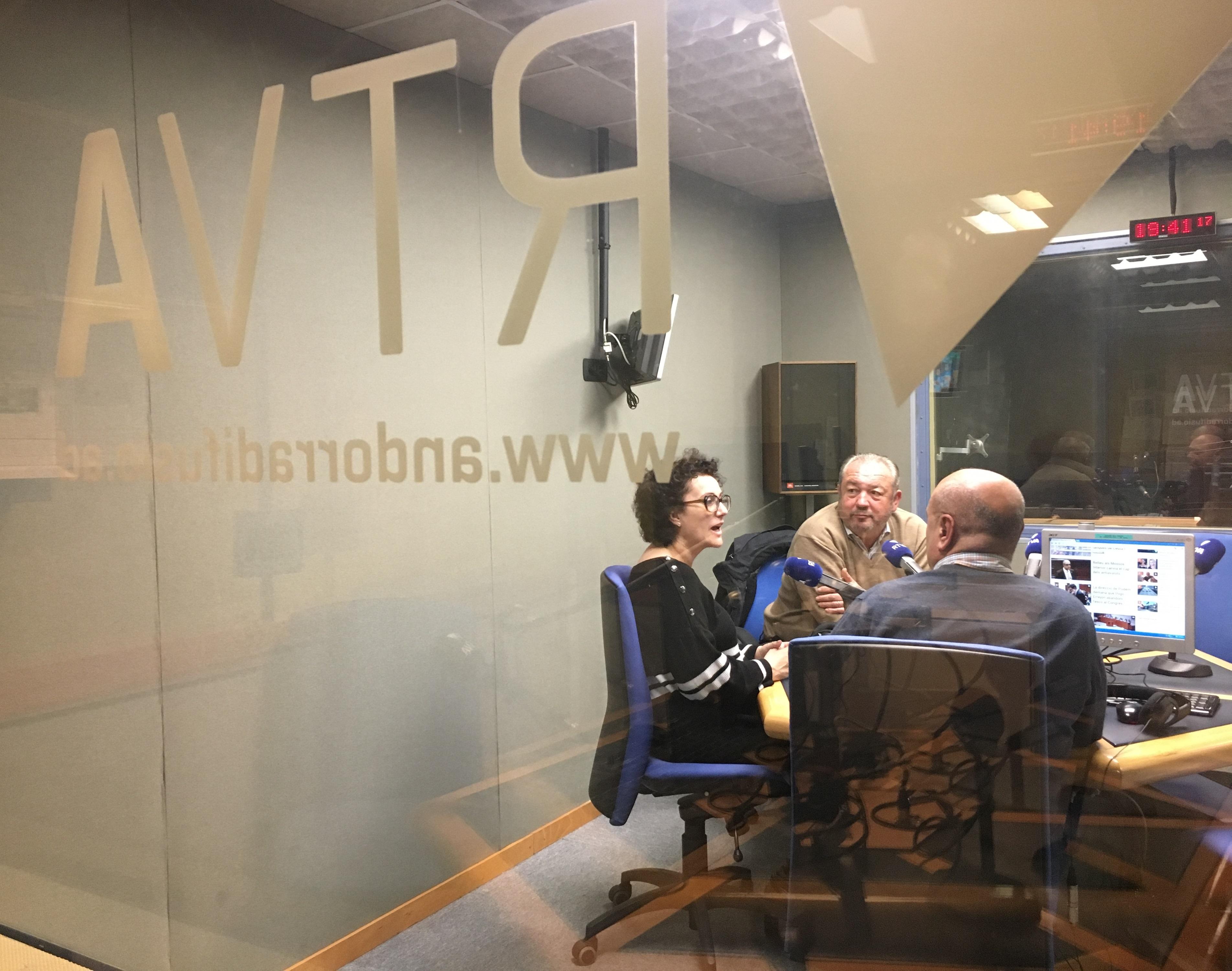 Tertúlia amb Miquel Medina i Judith Pallarés 18 de gener del 2019