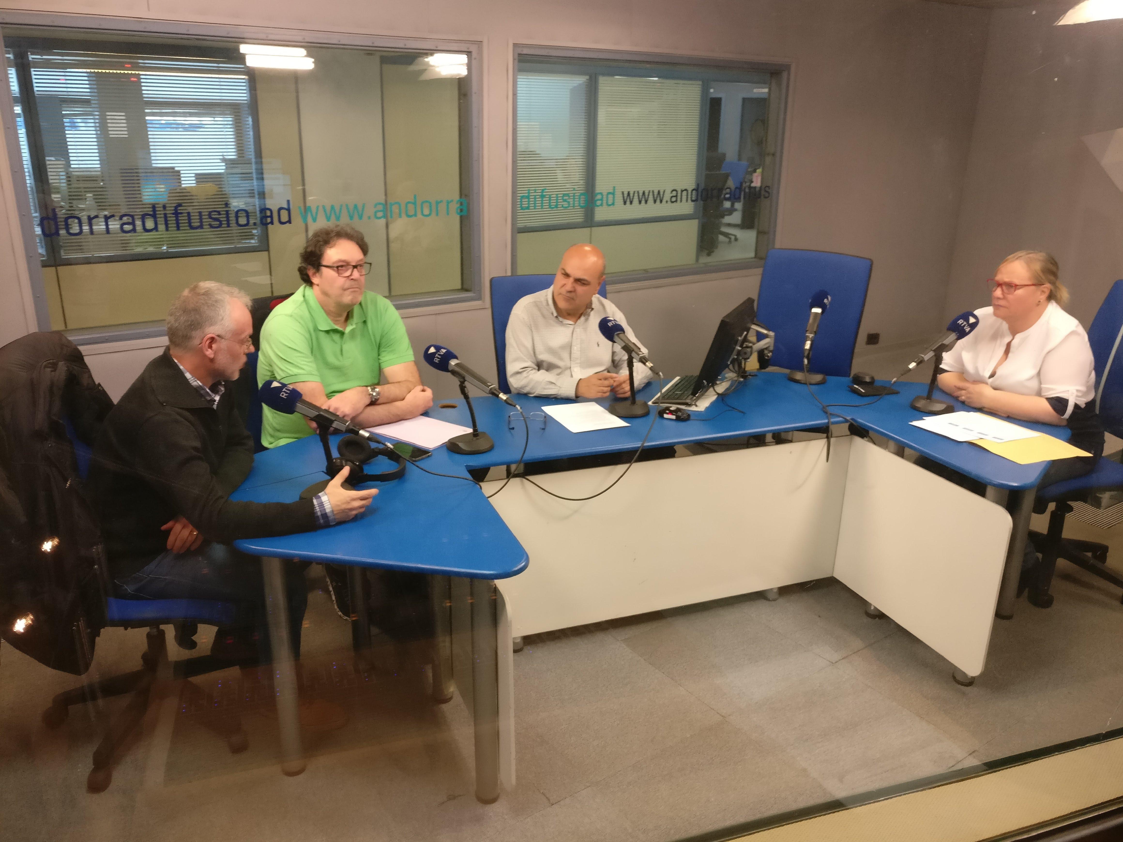 Entrevista a Josep Roig, Francisca Barbero i Pere Pràxedes
