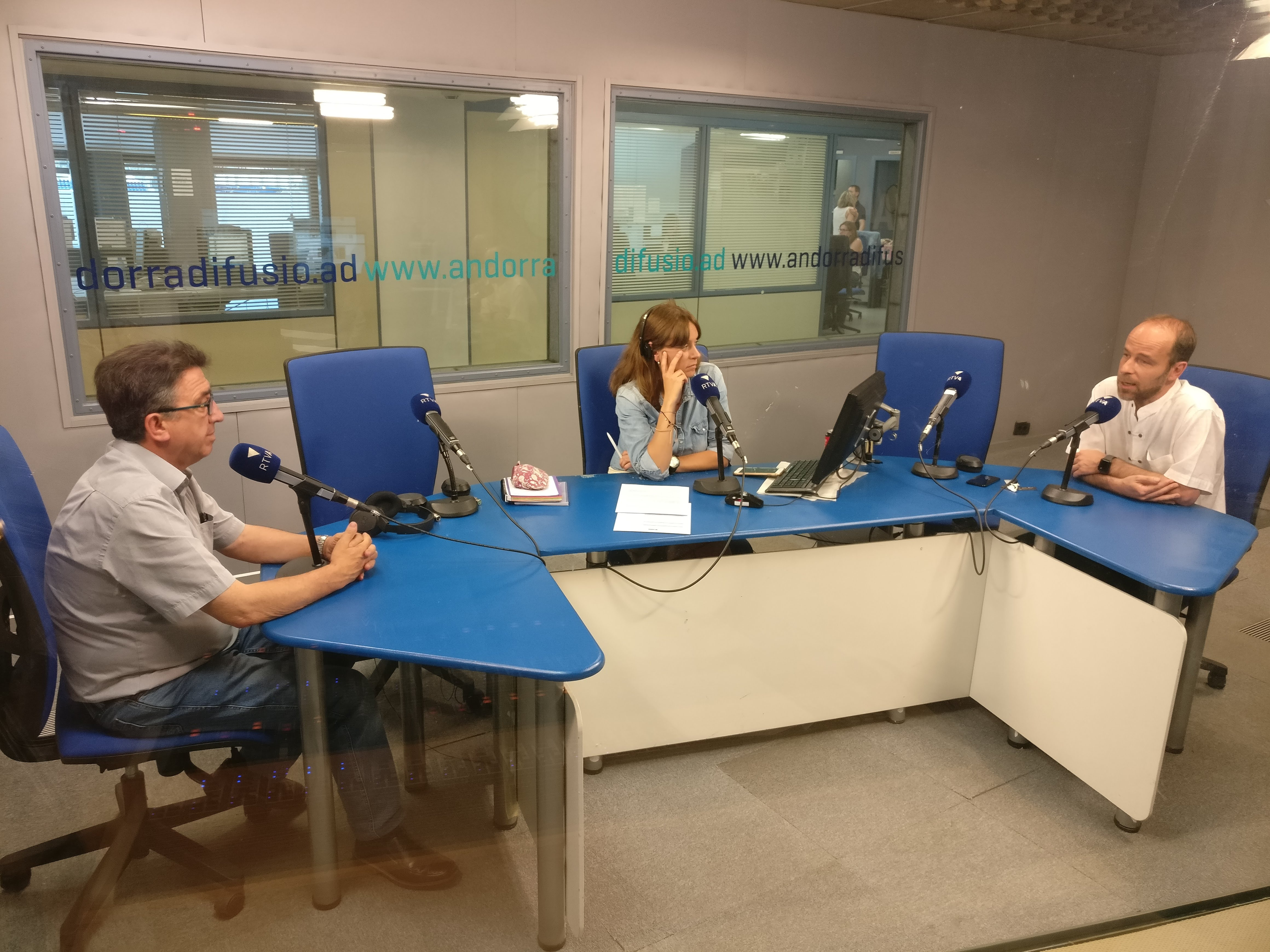 Tertúlia amb Josep Maria Cucalón i Manel Montoro 27 de juny del 2018