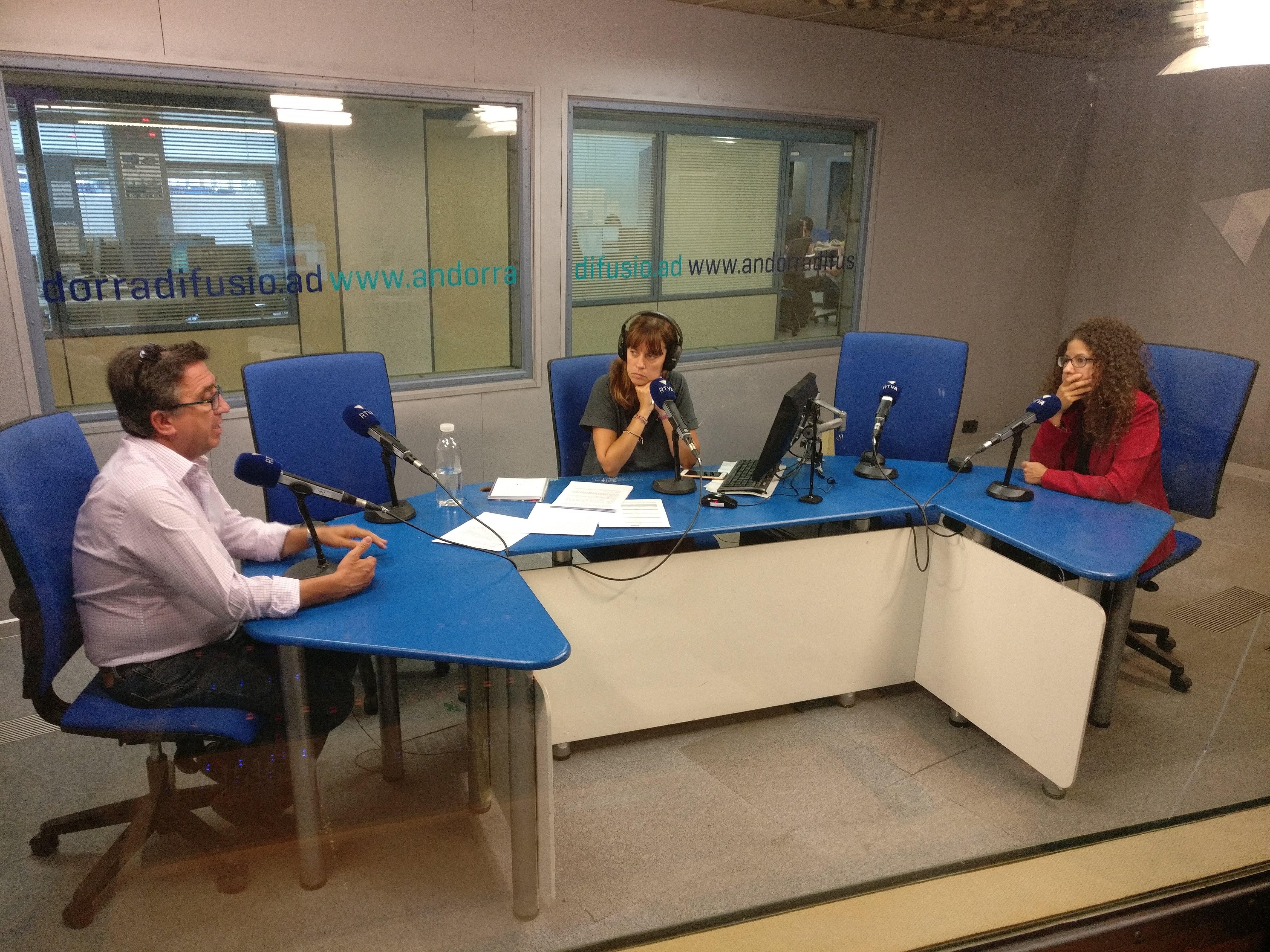 Tertúlia amb Patrícia Bragança i Josep Maria Cucalón 20 de setembre del 2018