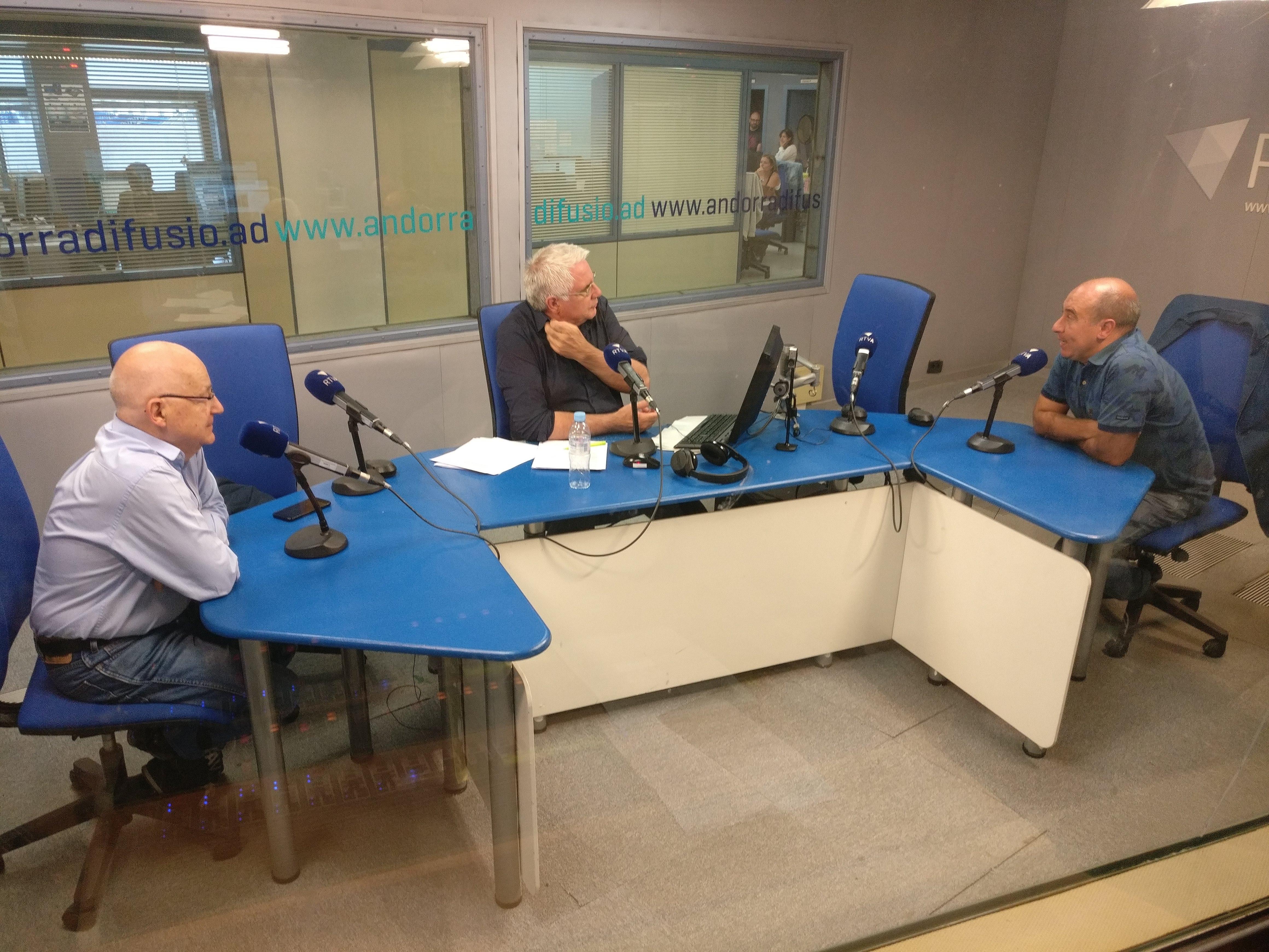Tertúlia amb Josep Maria Mangot i Alfons Clavera 21 de setembre del 2018