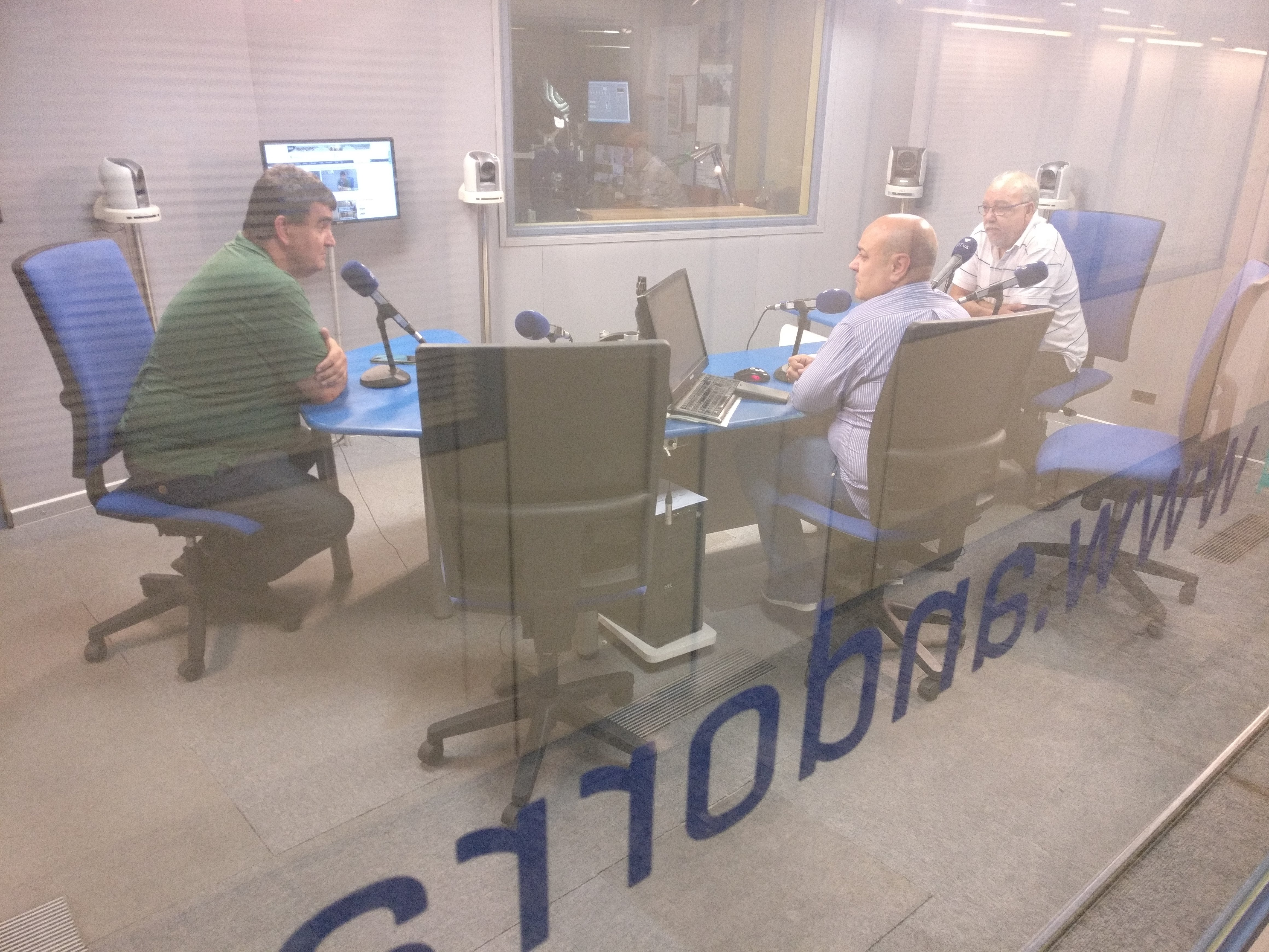 Tertúlia amb Francesc Rechi i Jordi Botey 21 de setembre del 2018