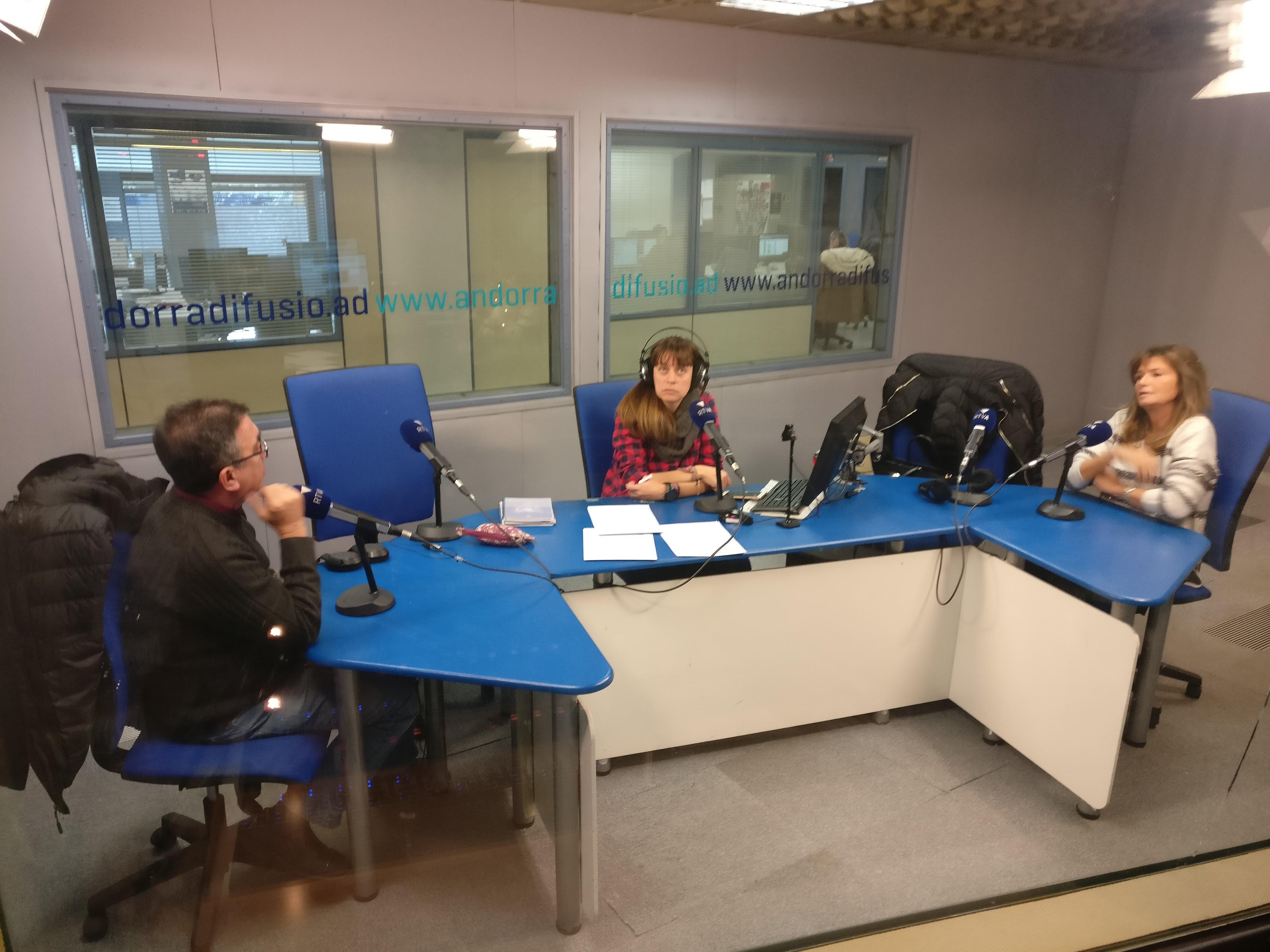 Tertúlia amb Elisa Muxella i Josep Maria Cucalón 19 de desembre del 2018