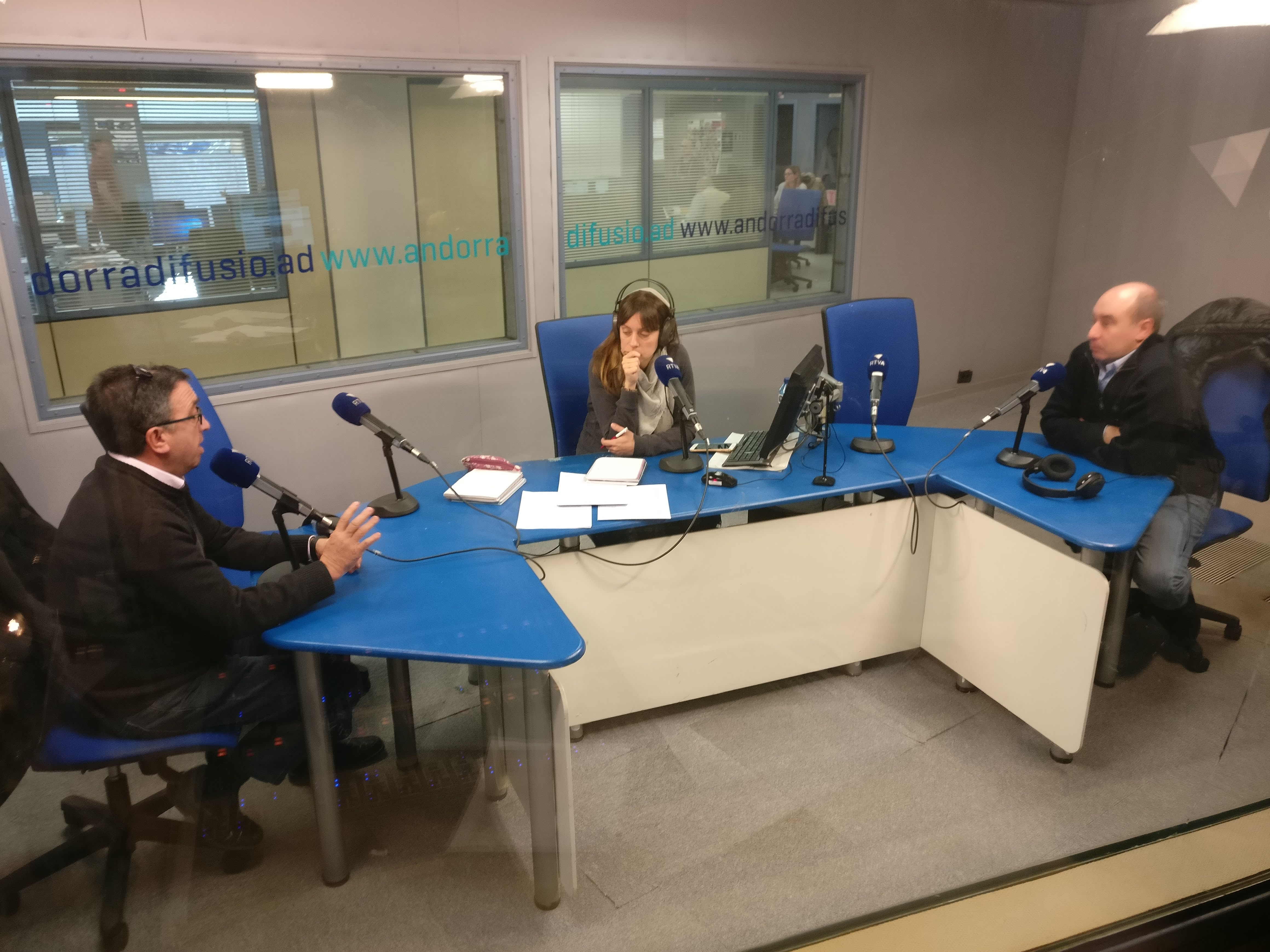 Tertúlia amb Josep Maria Cucalón i Alfons Clavera 3 de gener del 2019
