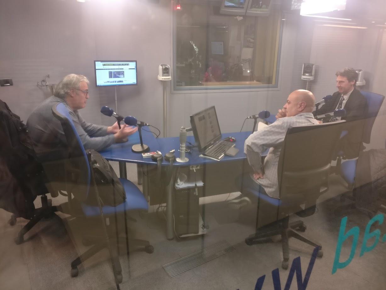 Tertúlia amb Jacint Risco i Enric Fontbernat 18 de febrer del 2019