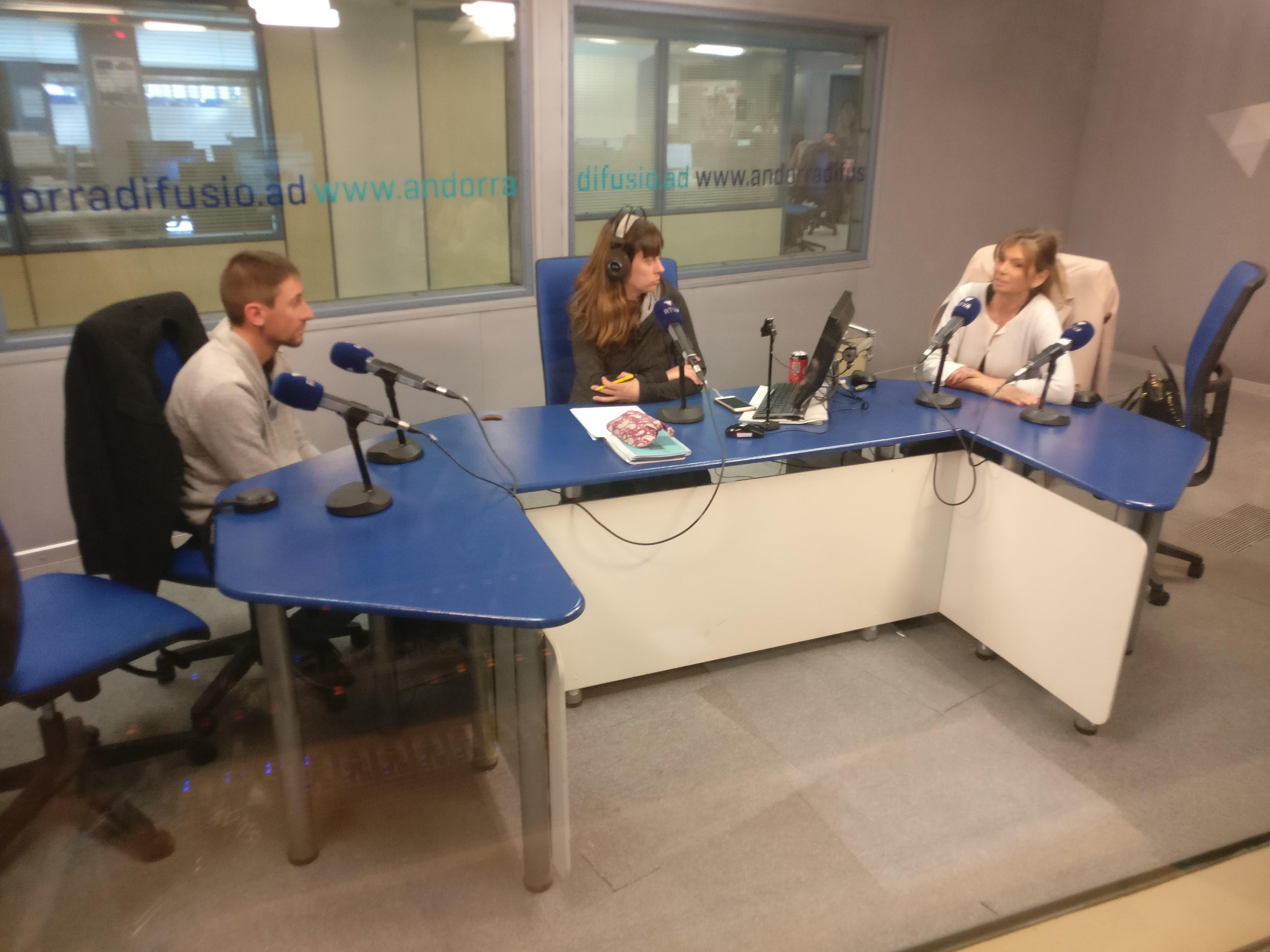 Tertúlia amb Elisa Muxella i Jordi Cabanes 27 de febrer del 2019