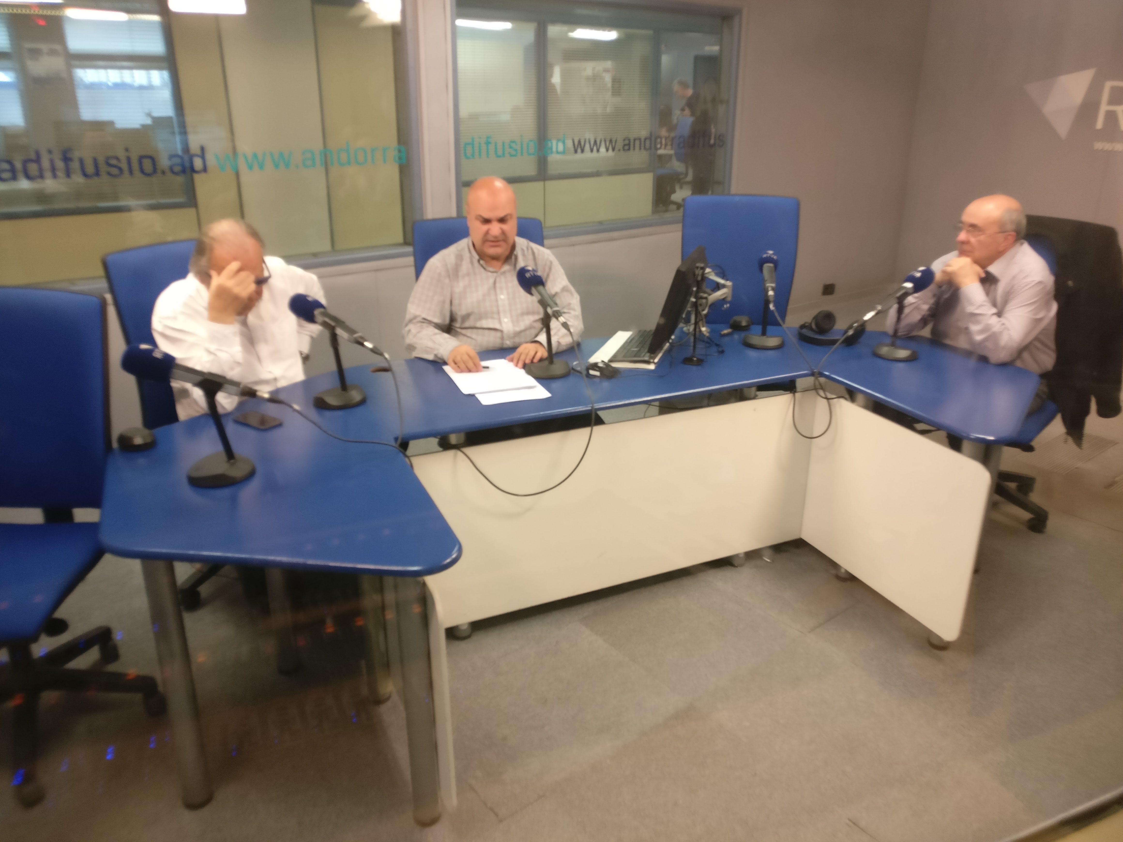 Tertúlia amb Gualbert Osorio i Francesc Ruano 28 de febrer del 2019