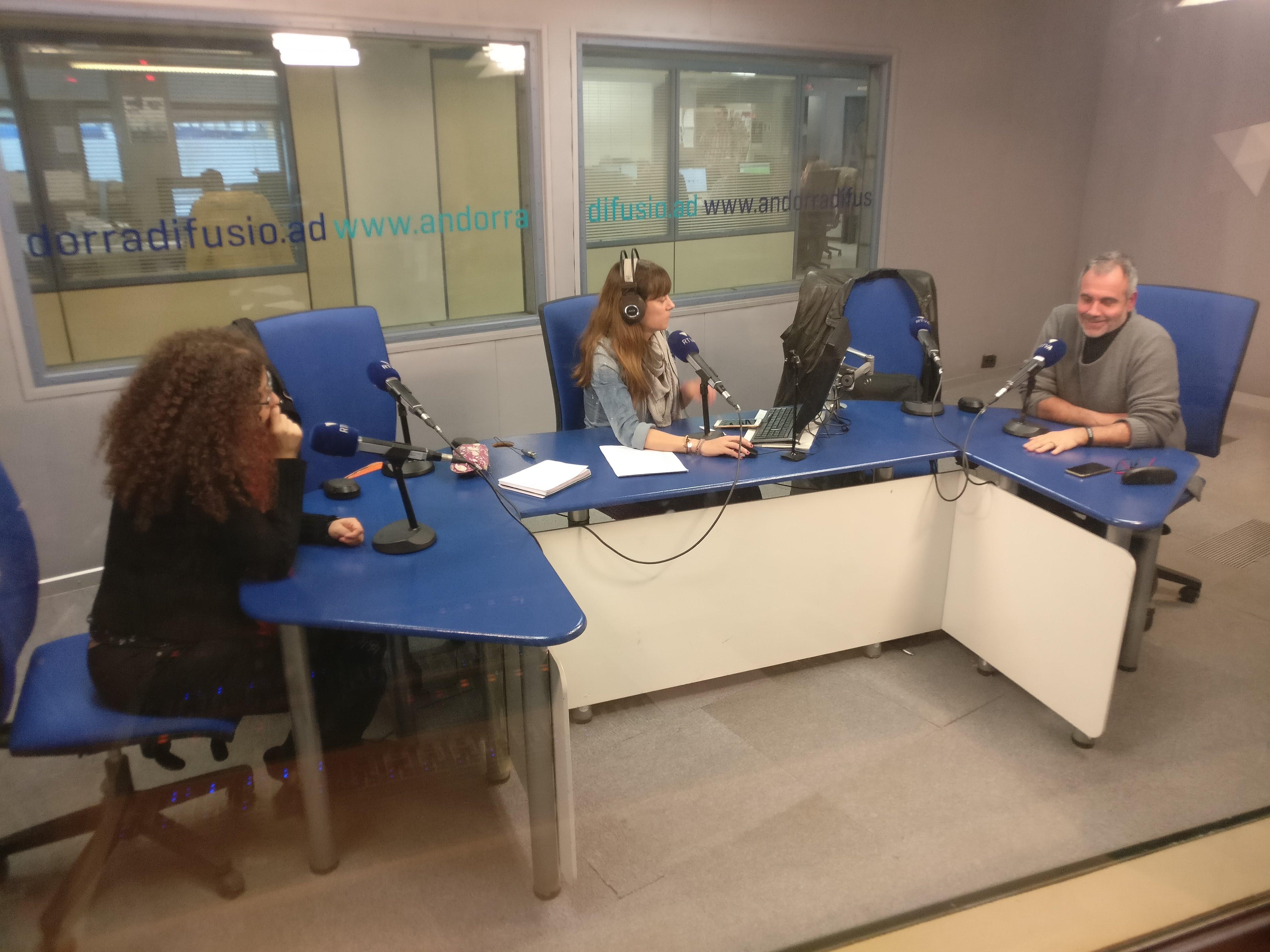 Tertúlia amb Patrícia Bragança i Albert Roig 6 de març del 2019