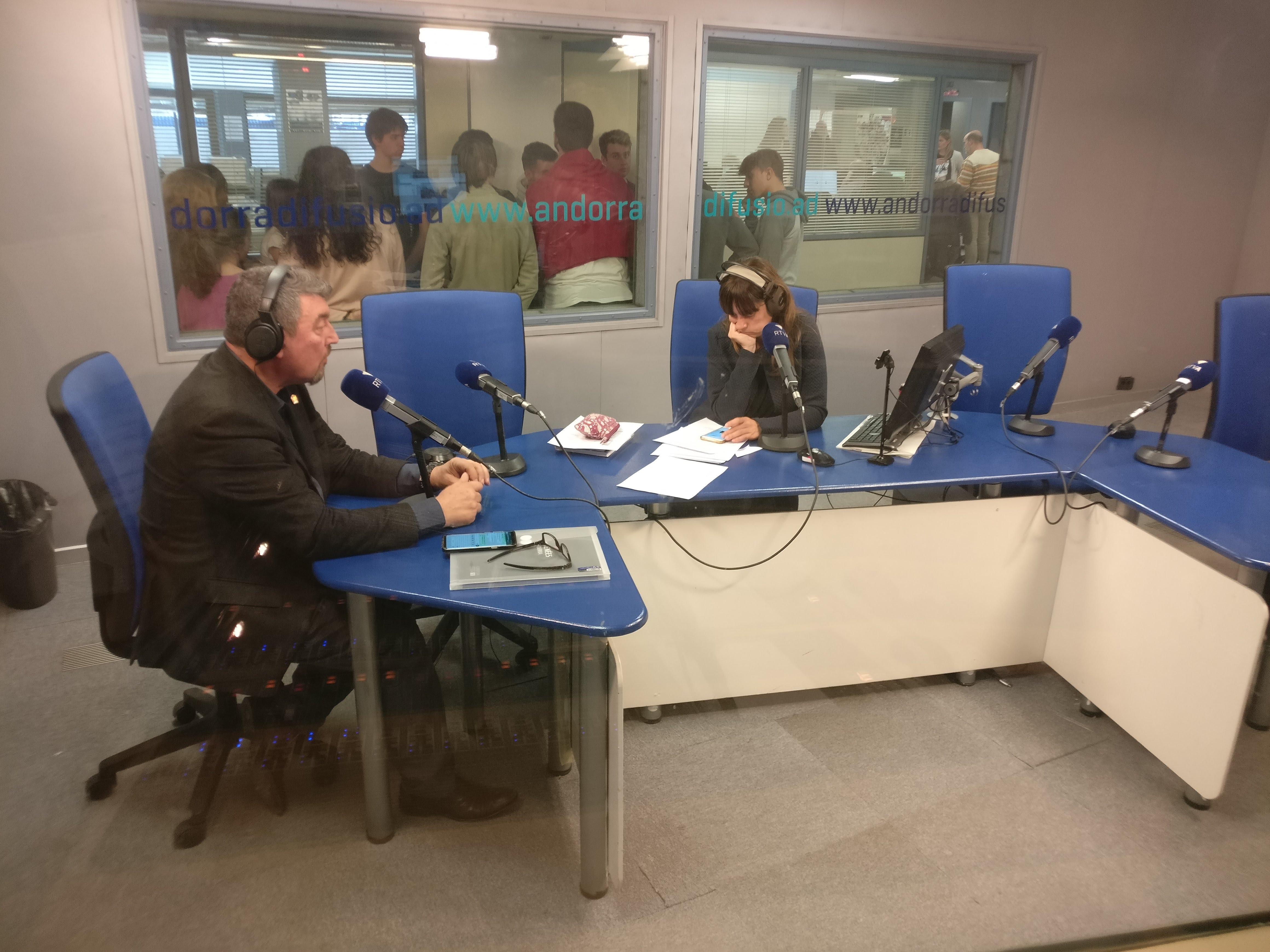 Tertúlia amb Andoni Azurmendi i Antoni Miralles 11 de març del 2019