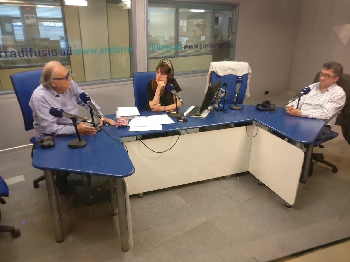 Tertúlia amb Josep Maria Cucalon i Paco Ruano 15 de març del 2019