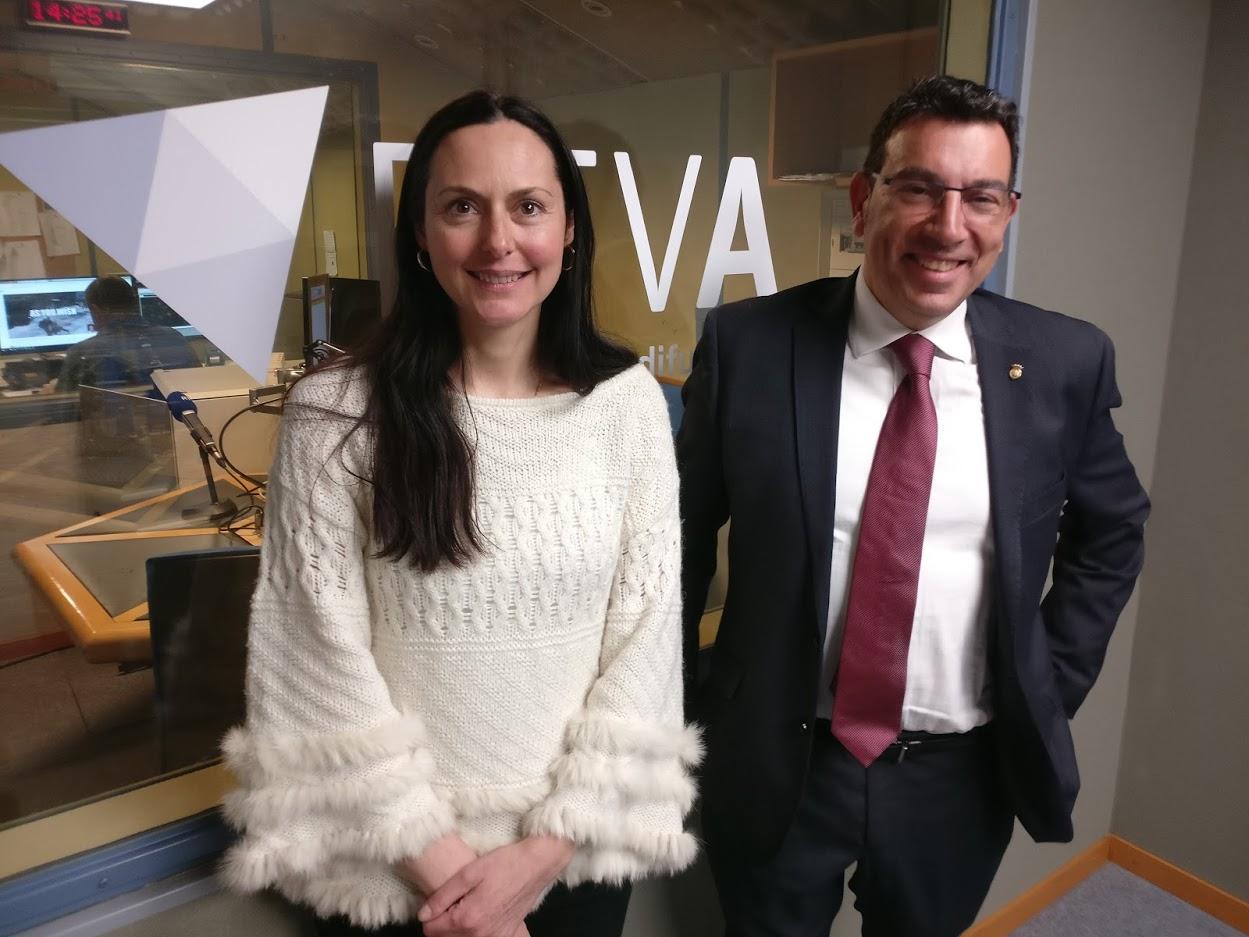 Tertúlia amb Olga Molné i Miquel Canturri