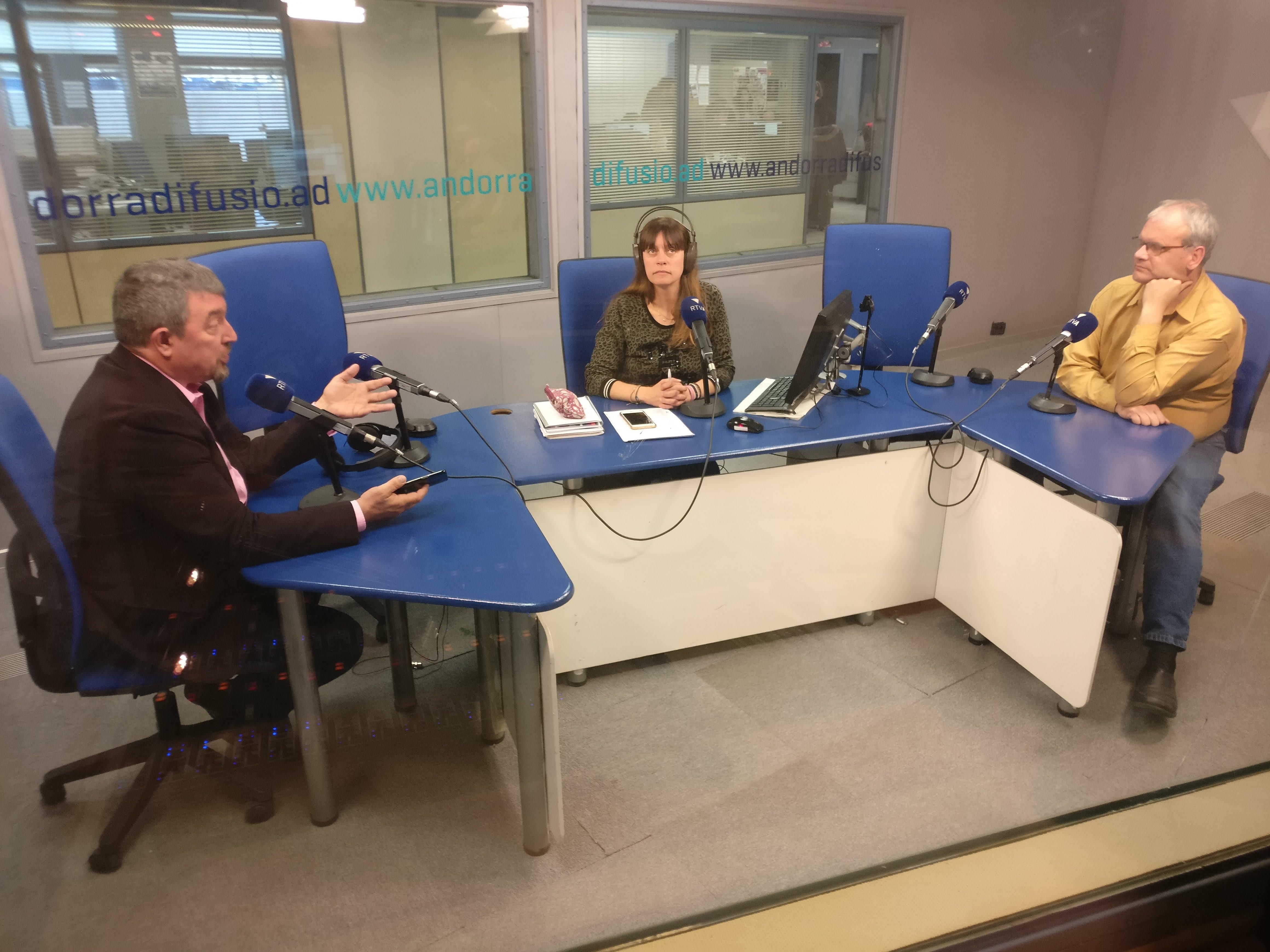 Tertúlia amb Pere Moliner i Antoni Miralles 18 de març del 2019