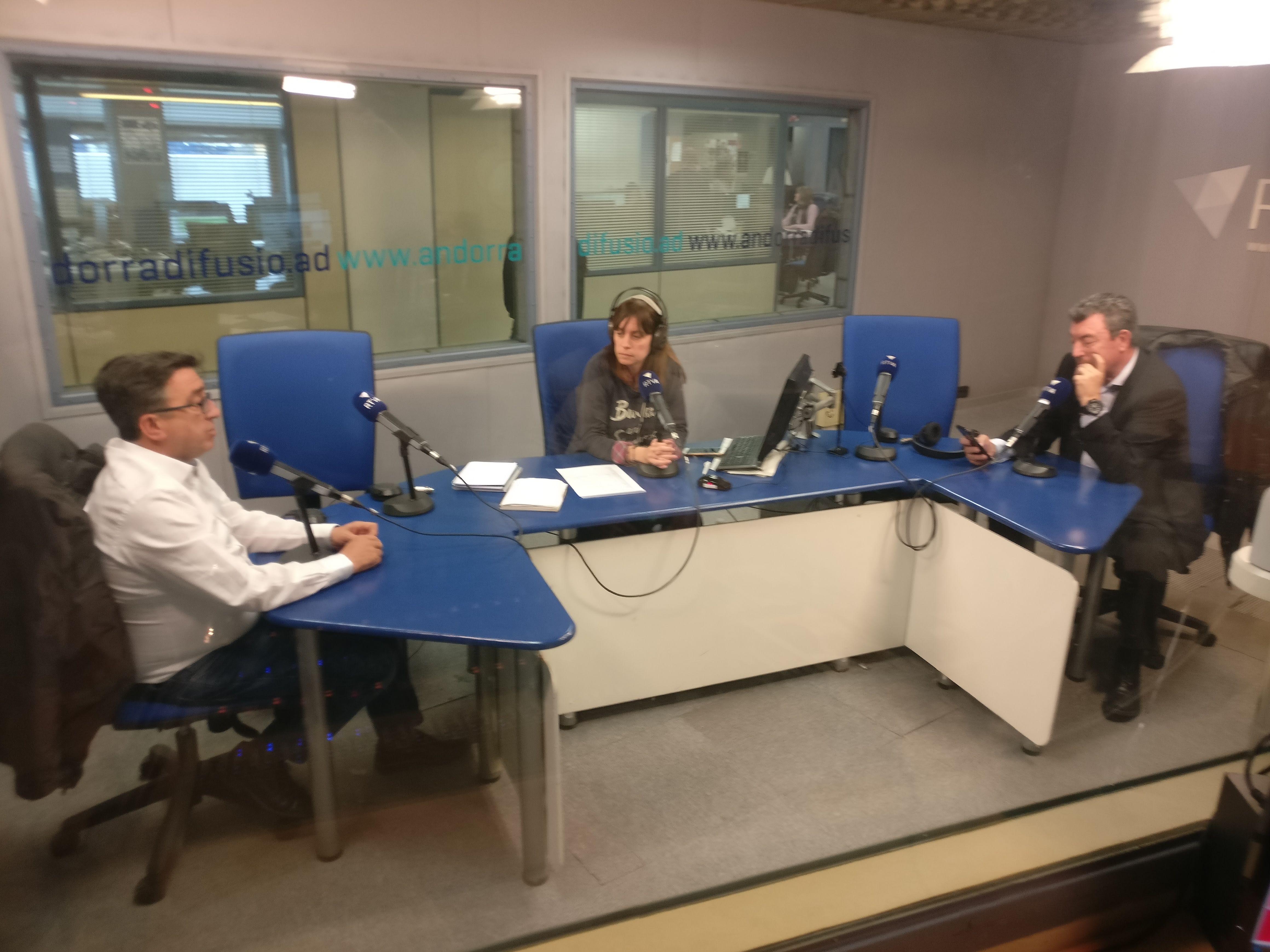 Tertúlia amb Antoni Miralles i Josep Maria Cucalon 11 d'abril del 2019