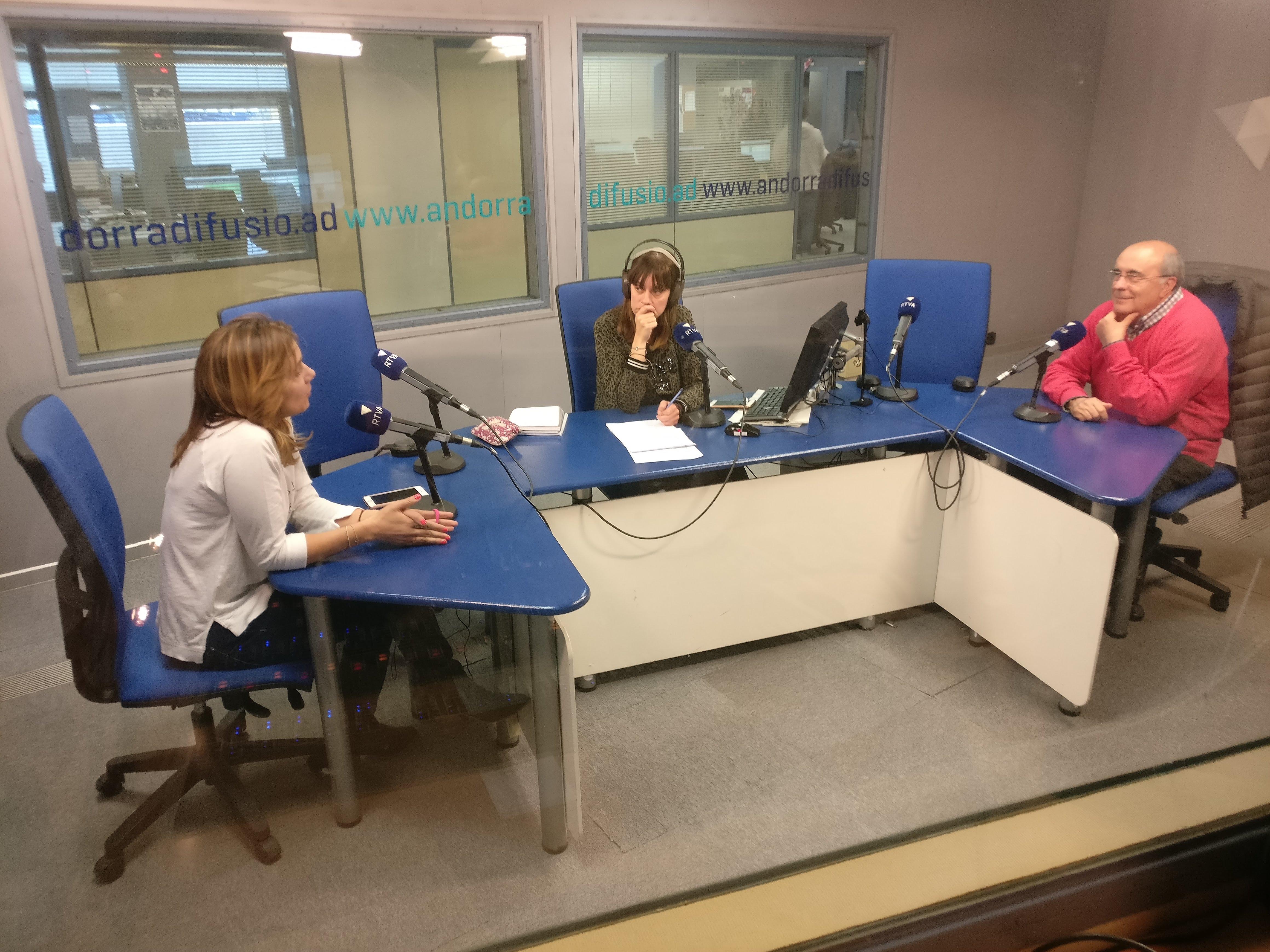 Tertúlia amb Gualbert Osorio i Gema Rial 12 d'abril del 2019