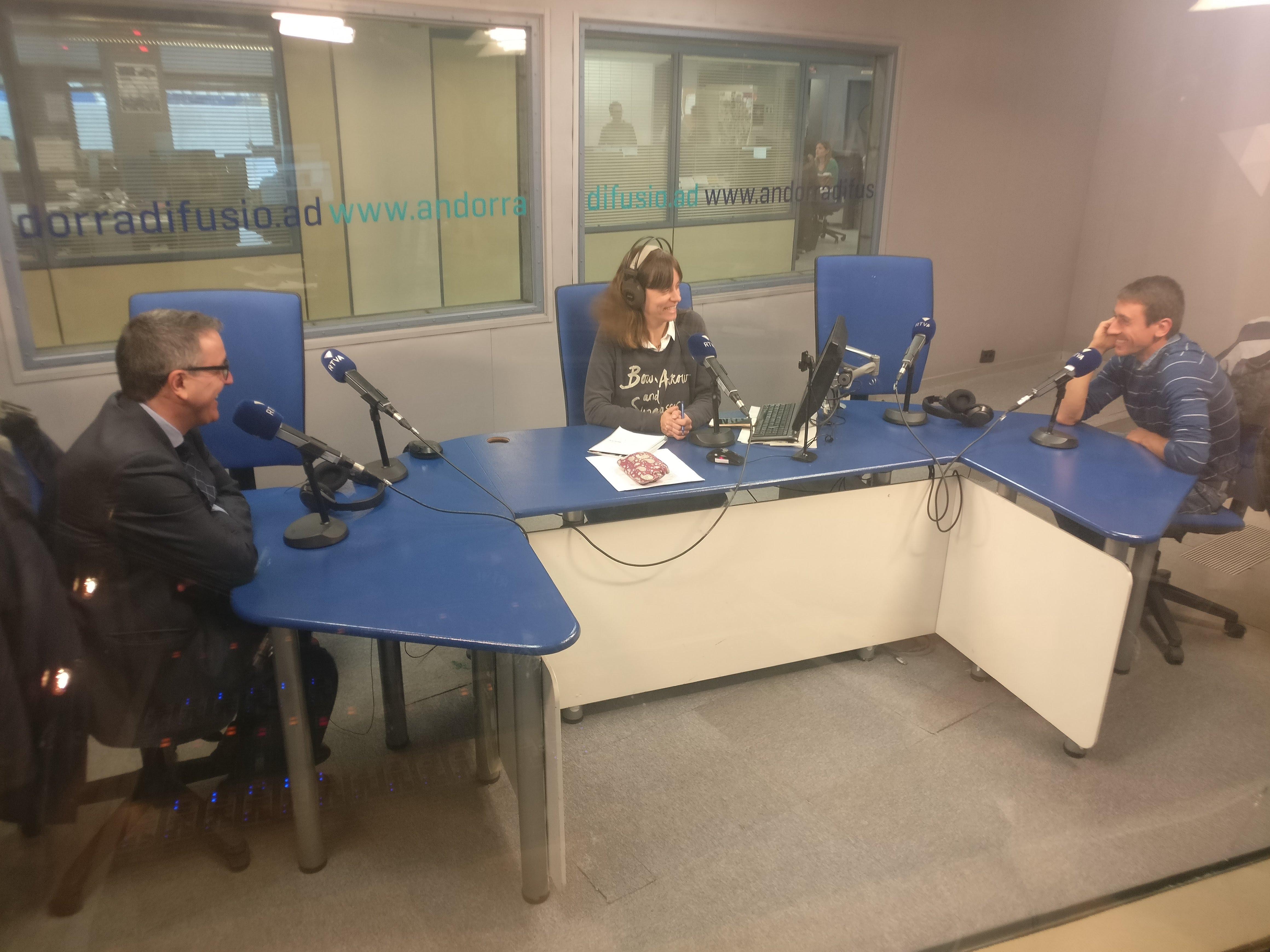 Tertúlia amb Manel Ara i Jordi Cabanes 18 de abril del 2019