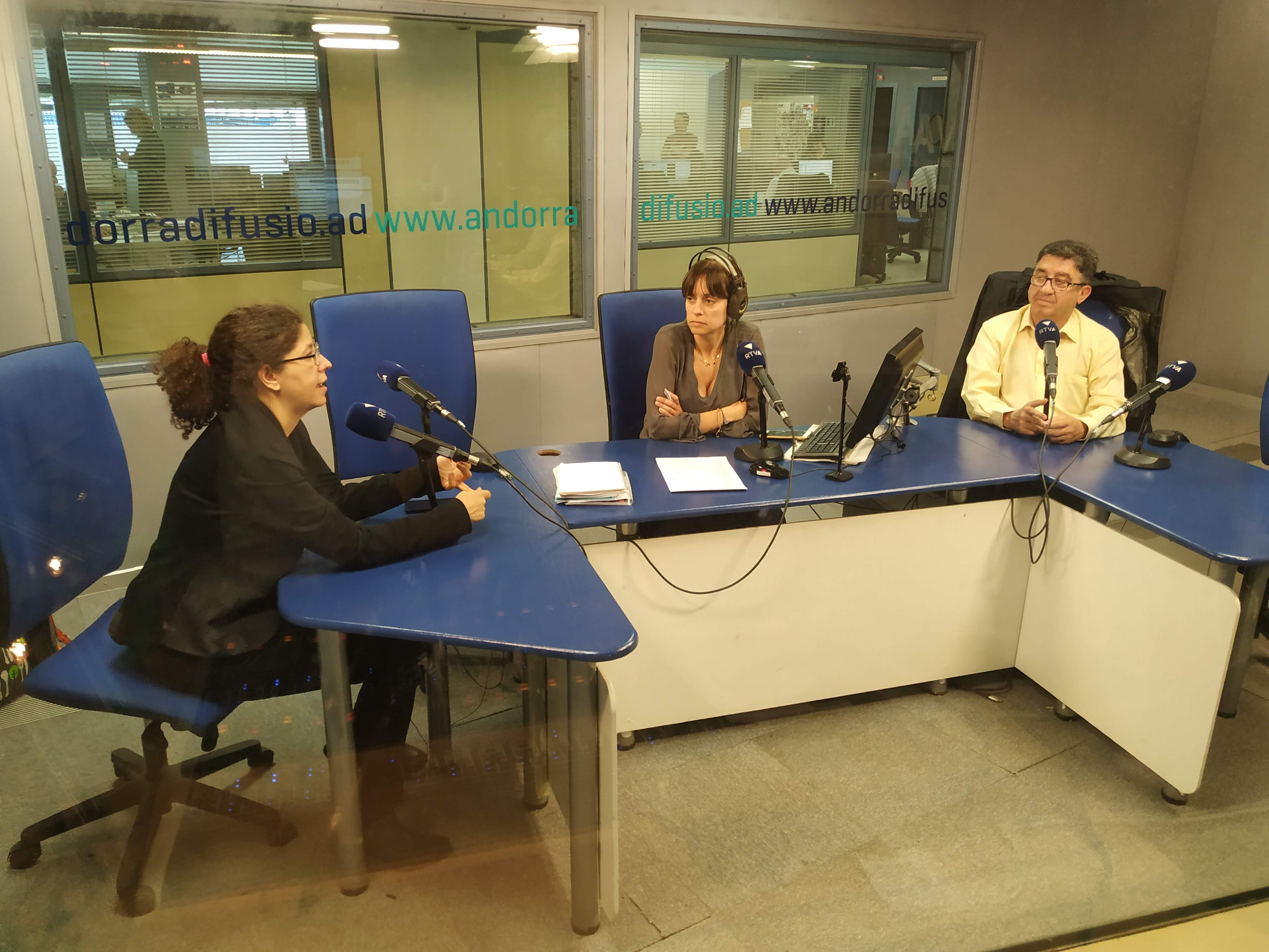 Tertúlia amb Patrícia Bragança i Josep Maria Cucalón 29 de maig del 2019