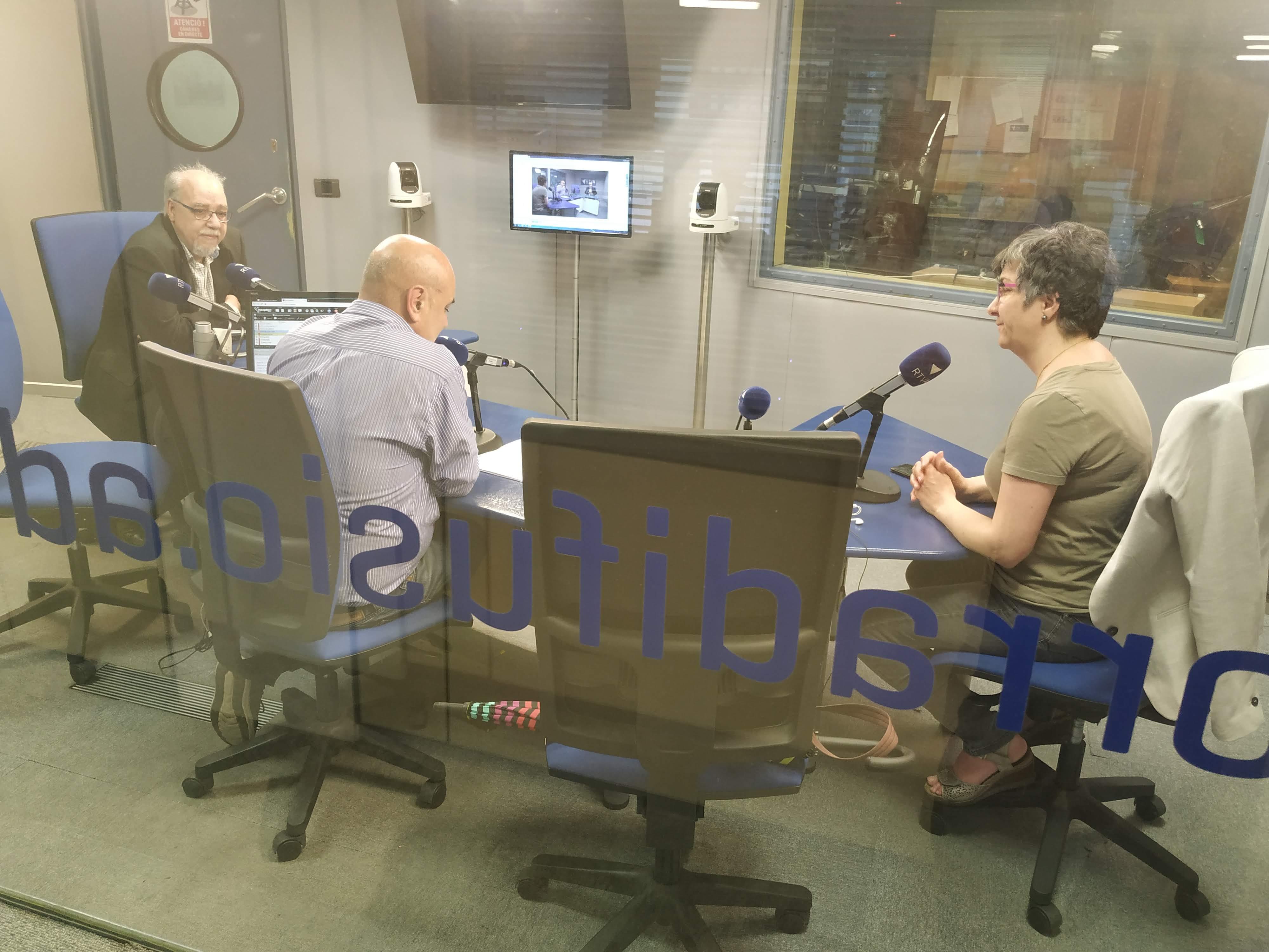 Tertúlia amb Cèlia Vendrell i Francesc Rechi 5 de juny del 2019