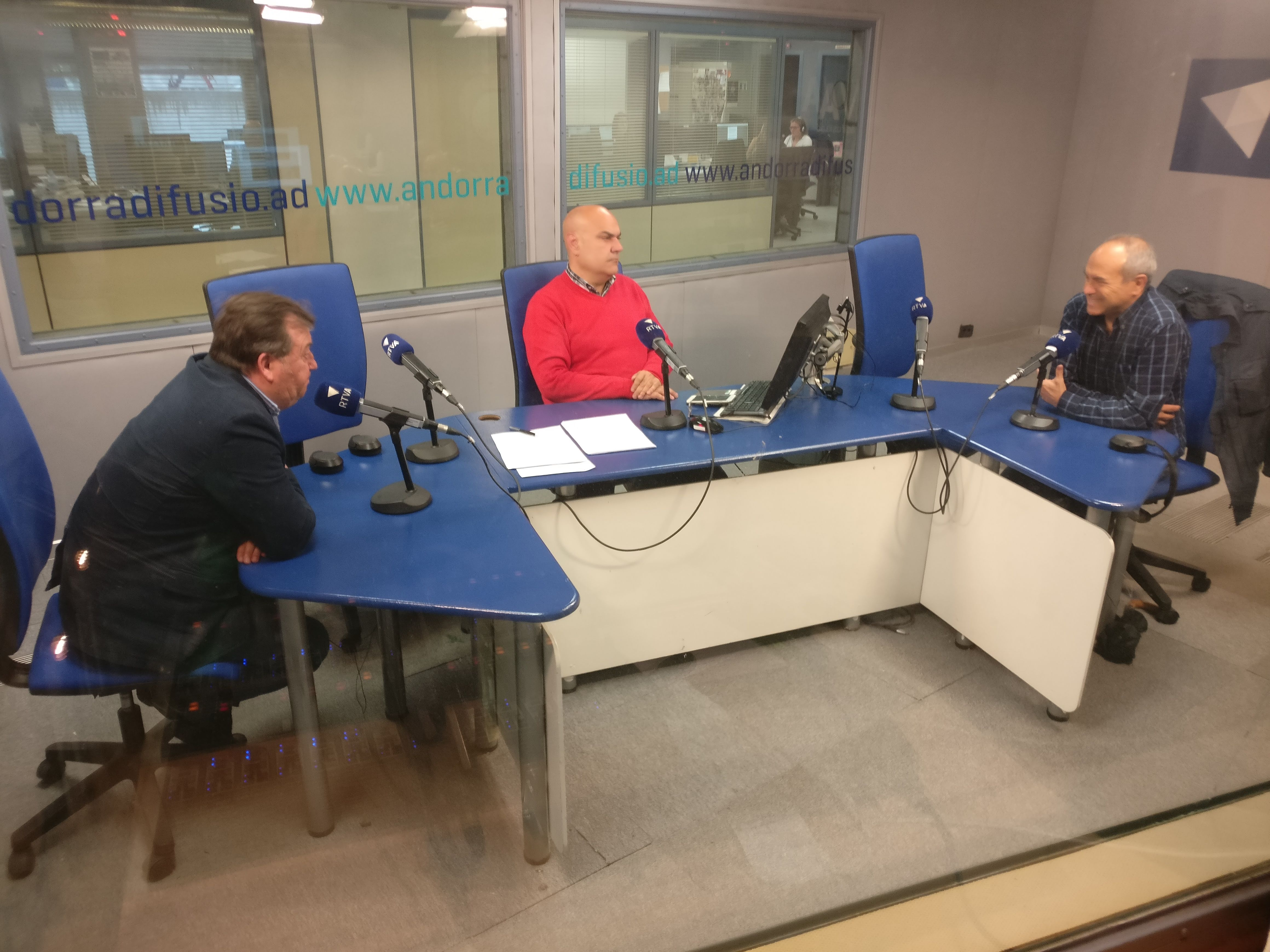Tertúlia amb Joan Ramon Sánchez i Eugeni de Santiago 11 de juny del 2019