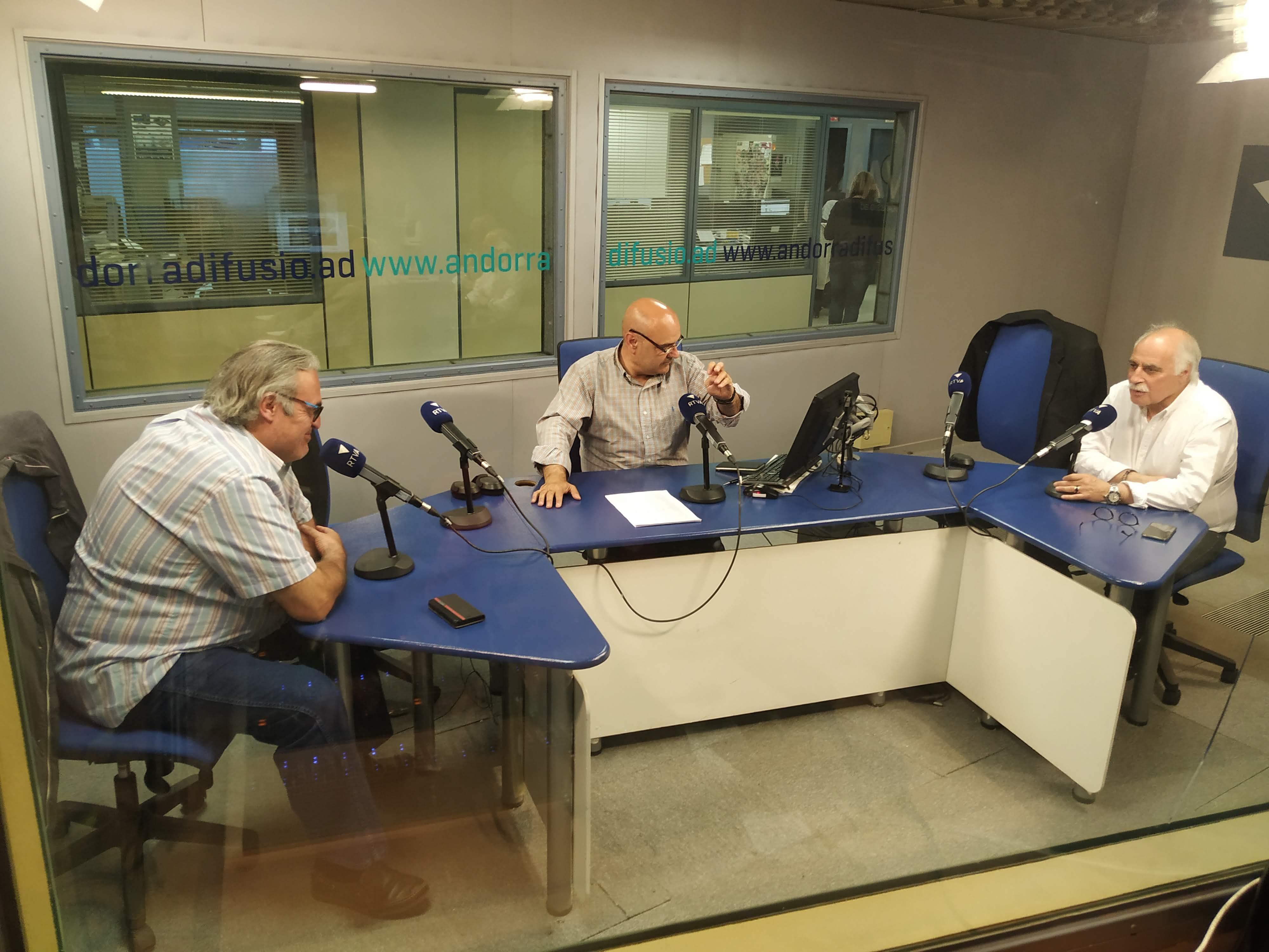 Tertúlia amb Jacint Risco i Eduard López 18 de juny del 2019