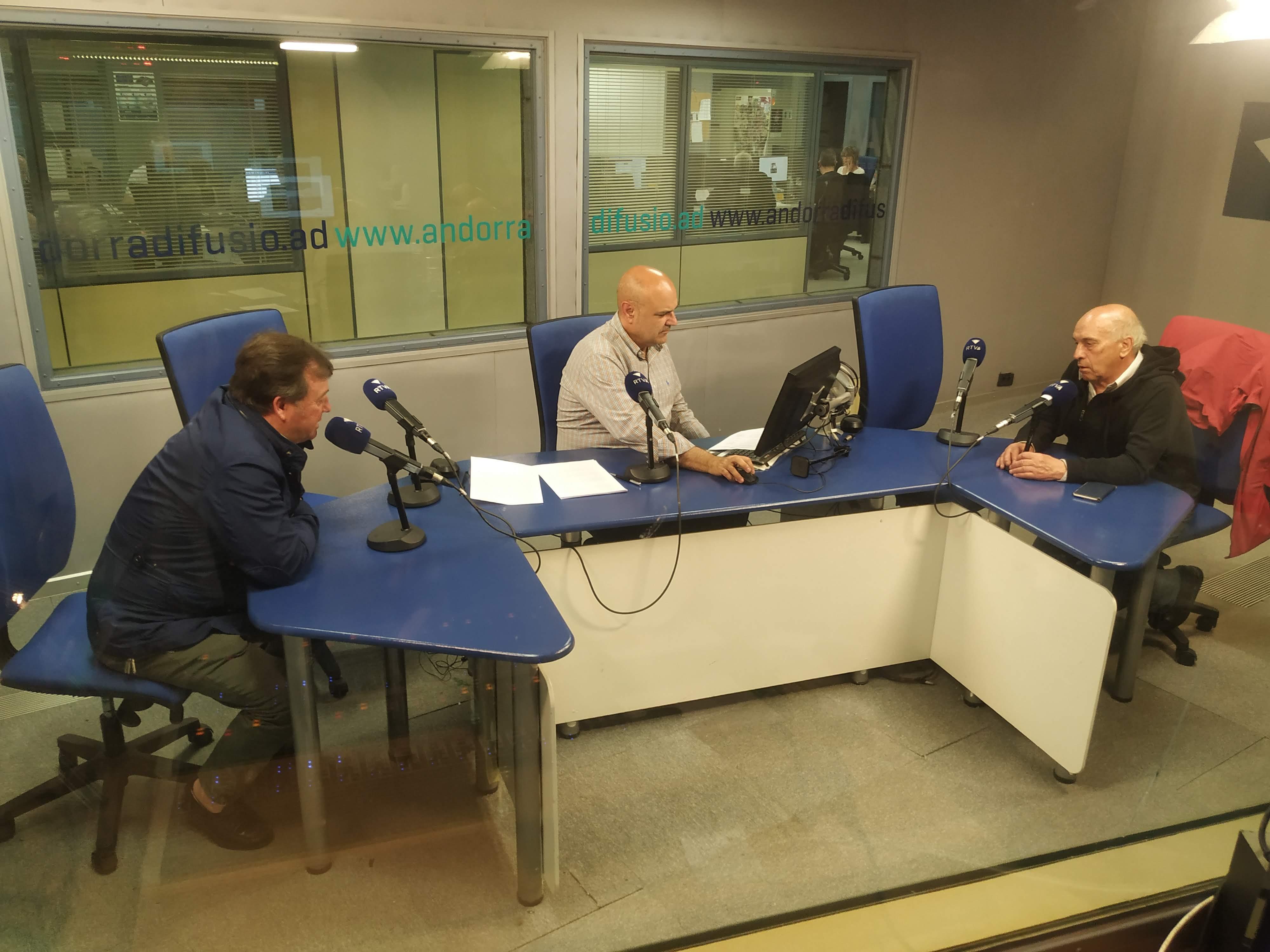 Tertúlia amb Joan Ramon Sánchez i Joan Fenosa 20 de juny del 2019