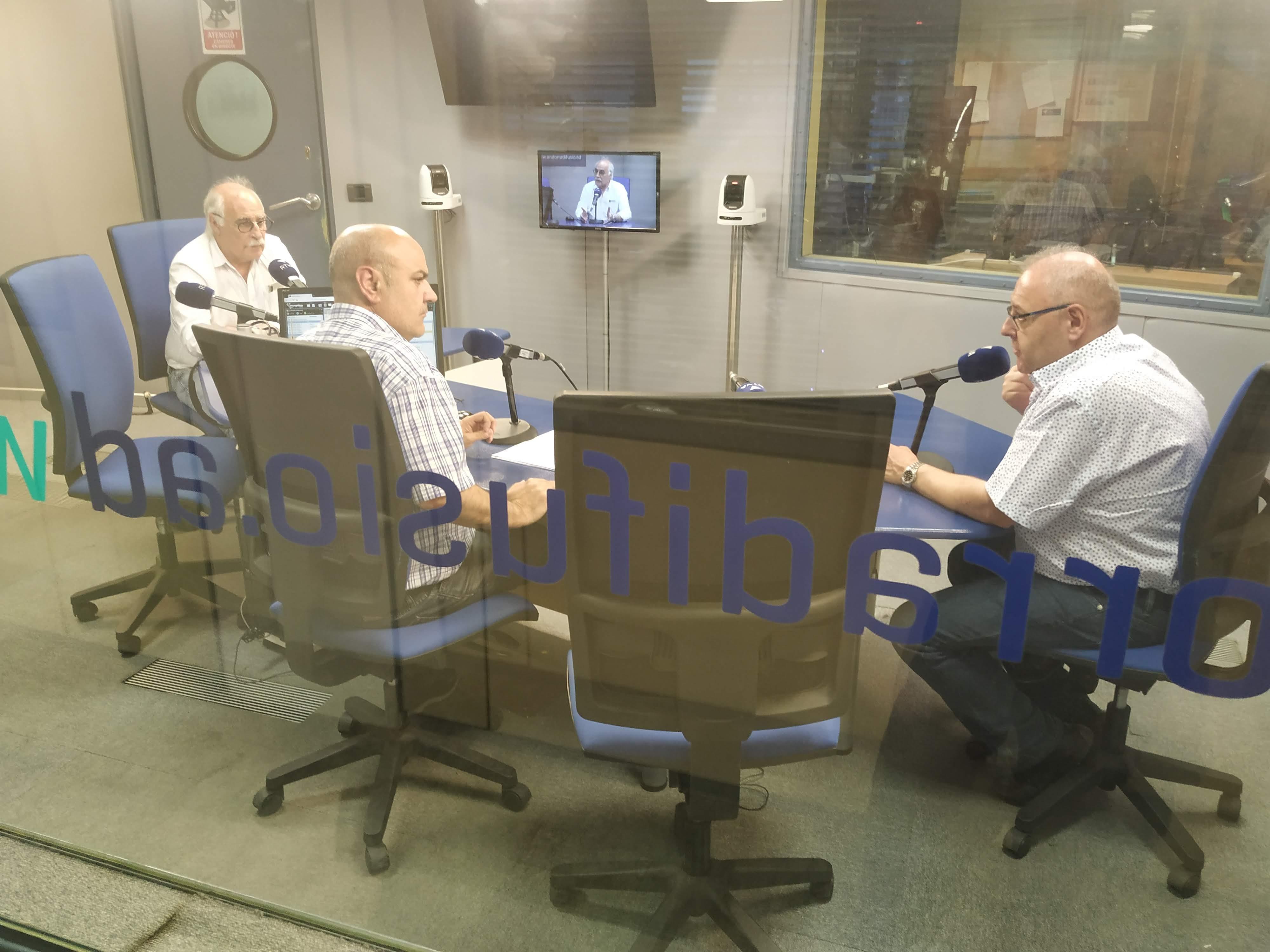 Tertúlia amb Eduard López i Josep Maria Camp 25 de juny del 2019