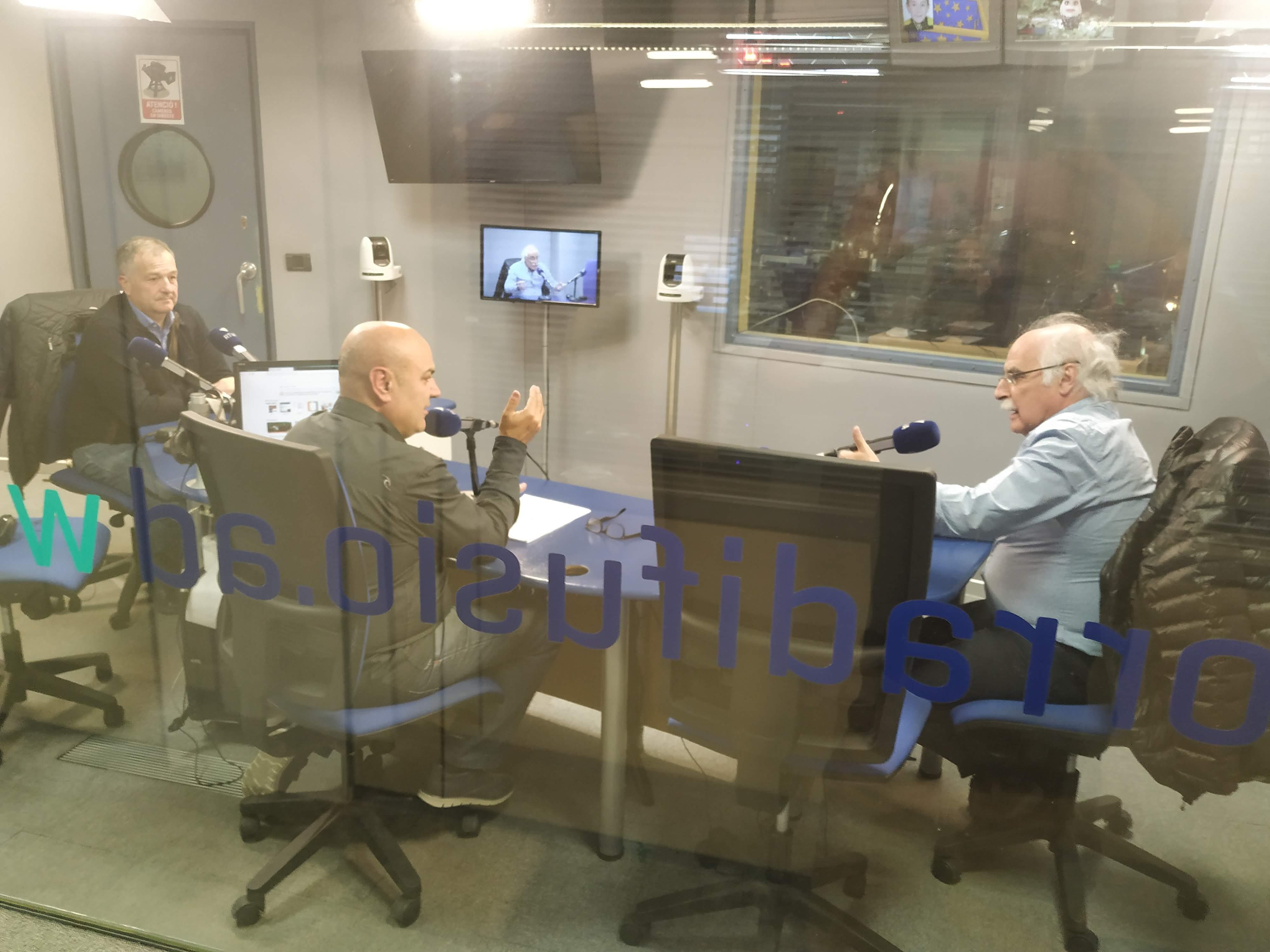Tertúlia amb Bartumeu Gabriel i Eduard López 13 de novembre del 2019