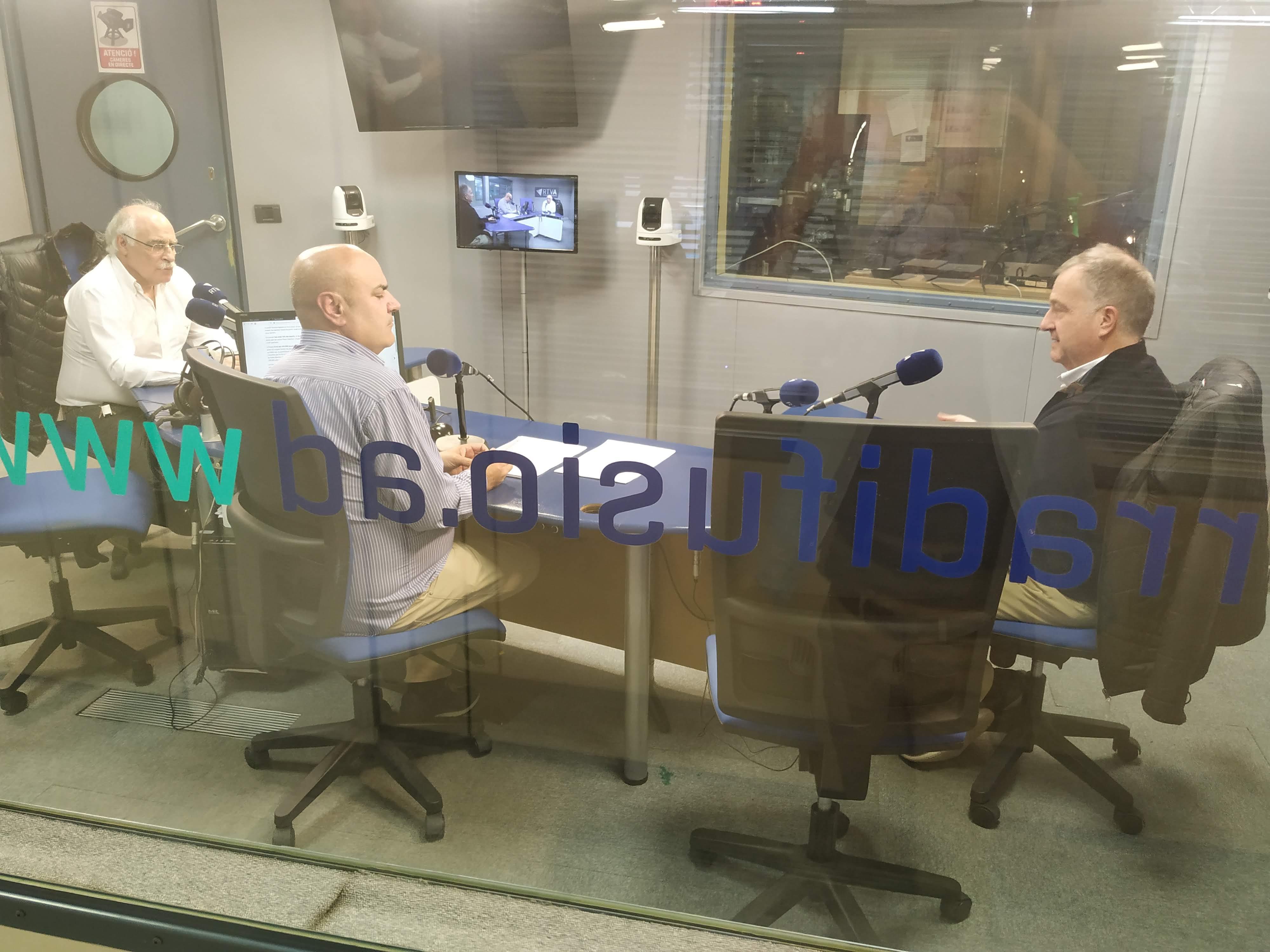 Tertúlia amb  Eduard López i Bartumeu Gabriel 27 de novembre del 2019