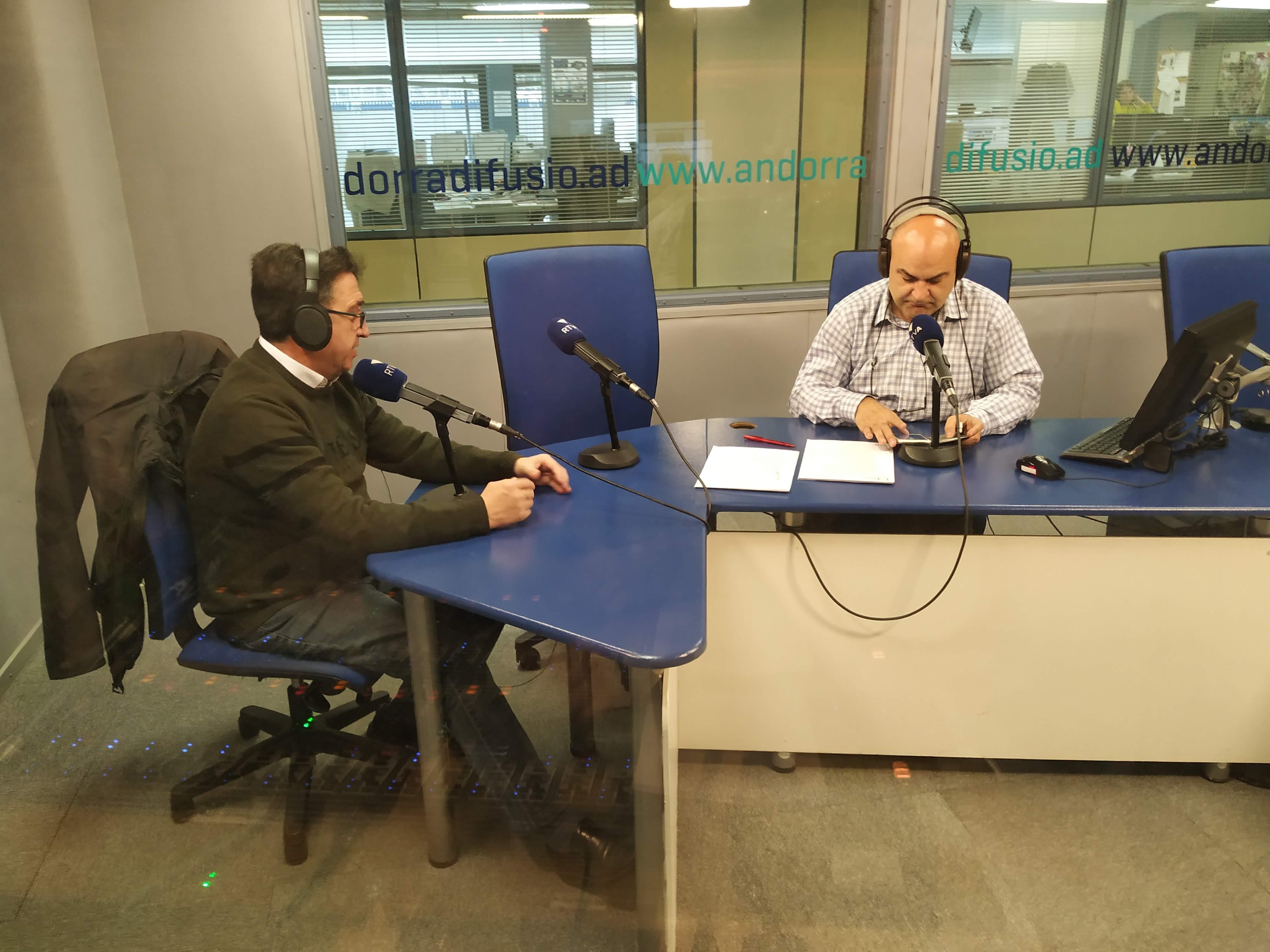 Tertúlia amb Josep Maria Cucalón i Andoni Azurmendi 18 de febrer del 2020