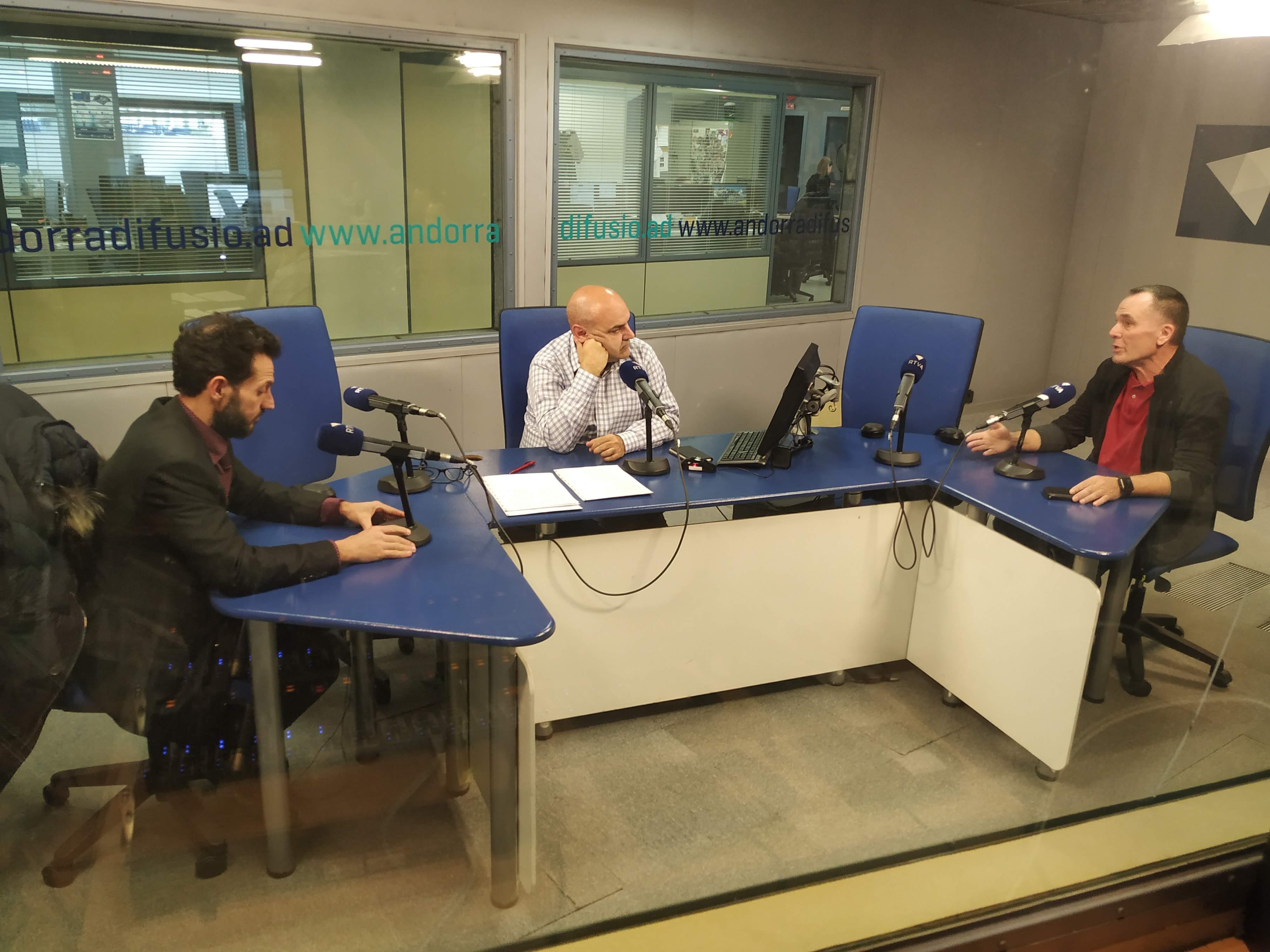 Tertúlia amb Gerard Alís i Ricard de la Casa 19 de febrer del 2020