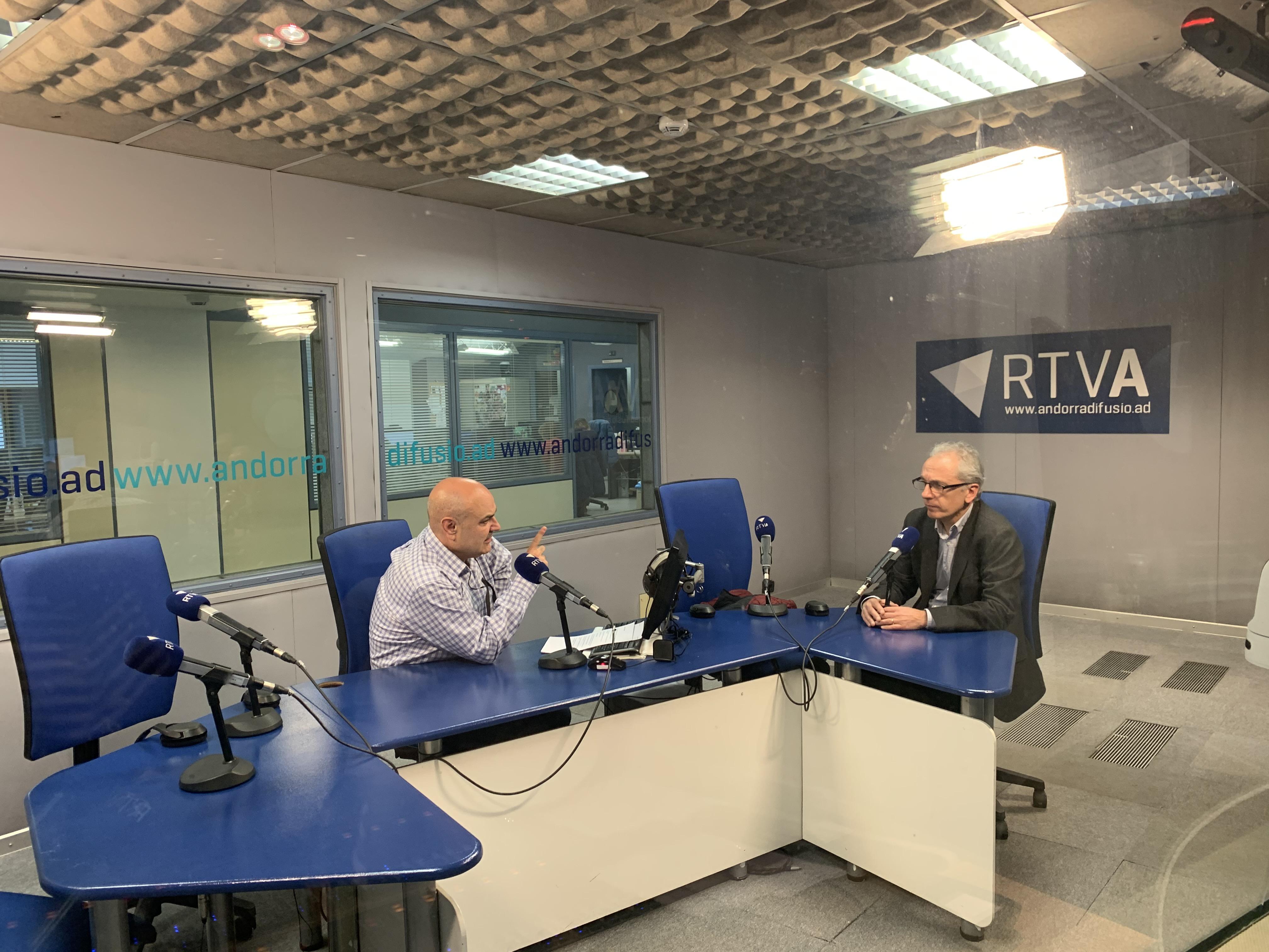 Entrevista al nou cònsol de Canillo, Francesc Camp