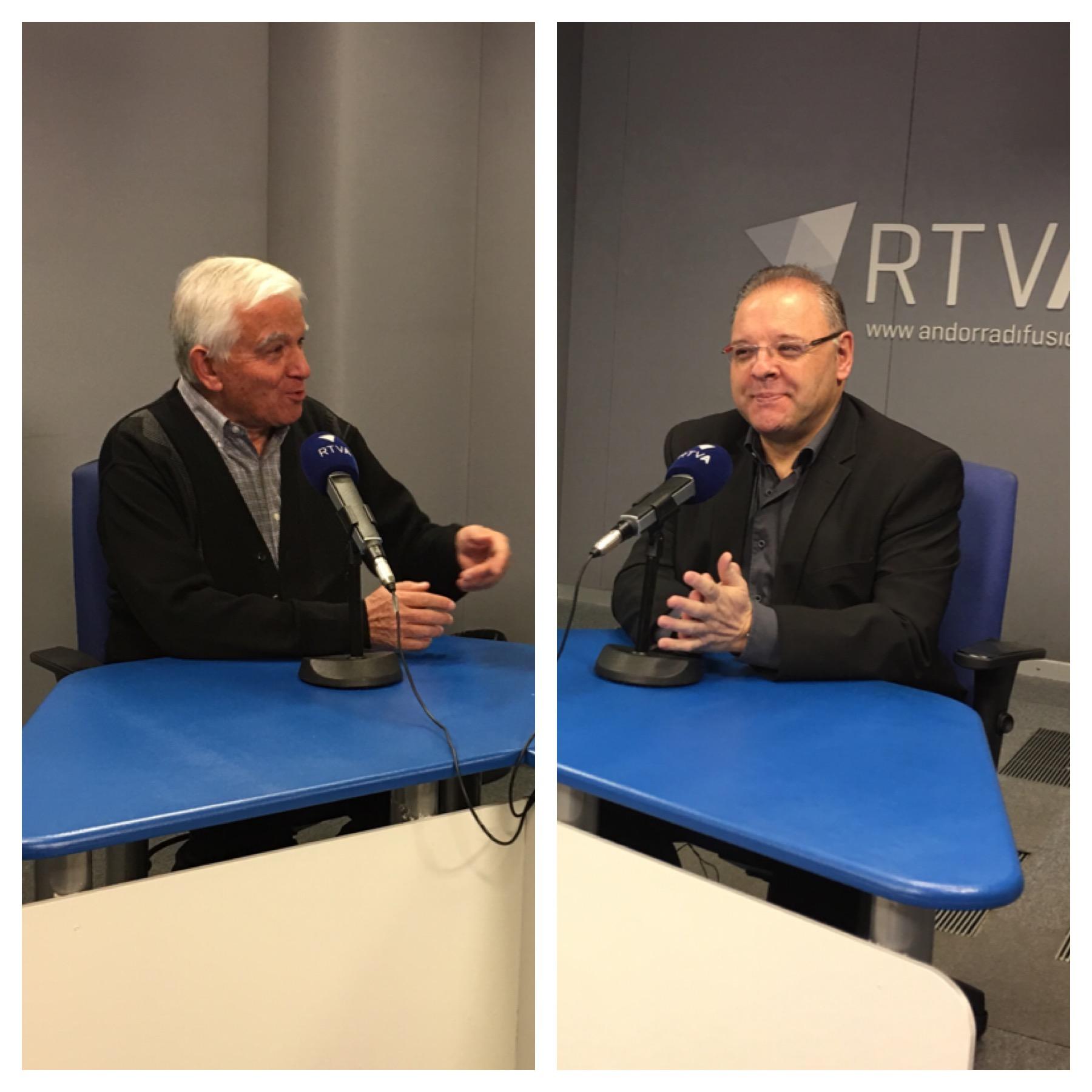 Entrevista a Miquel Alís i Josep Maria Camp 29 de desembre del 2017