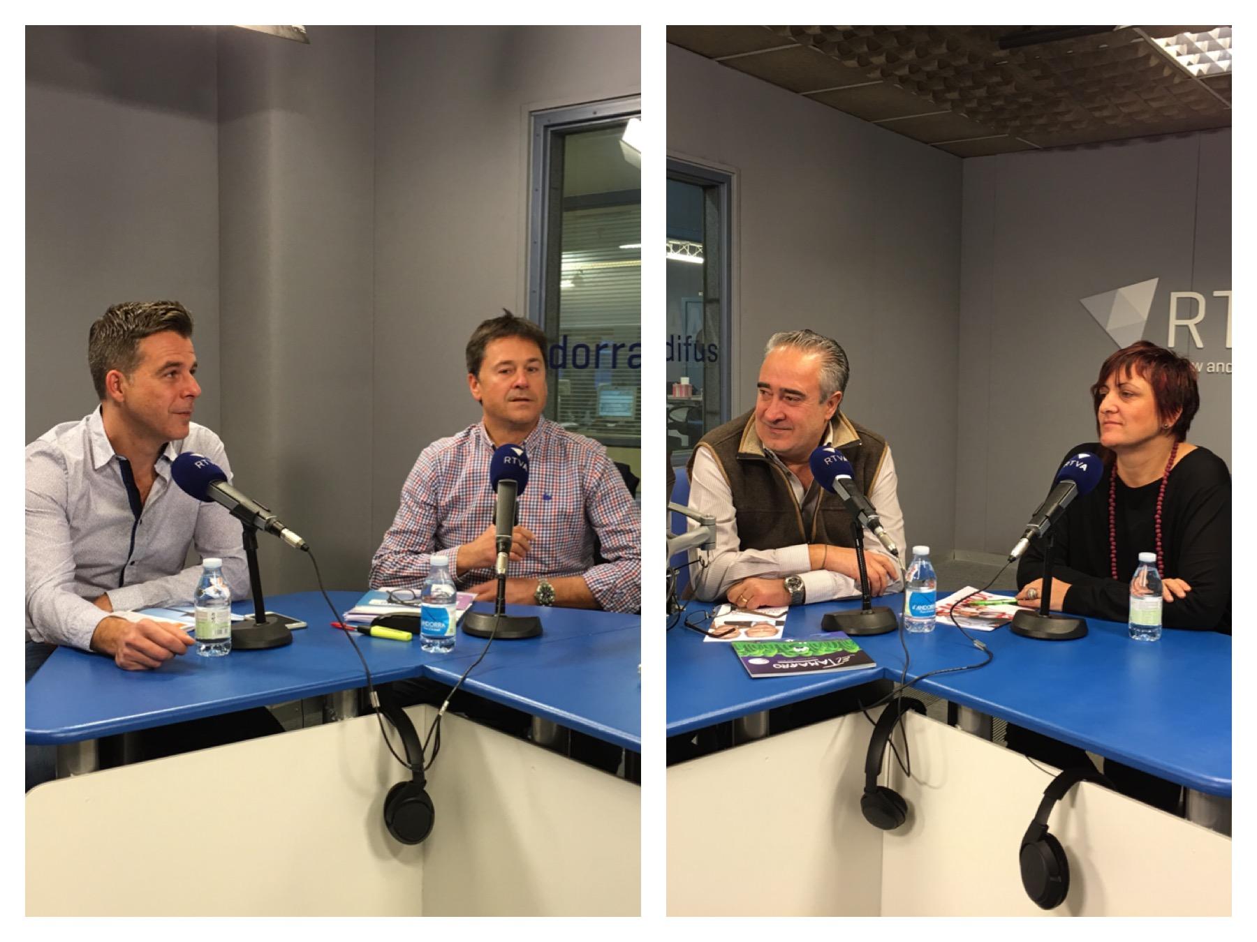 Tertúlia dels números 2 d'Andorra la Vella: Lídia Samarra, Àngel Dalmau, Víctor Pintos i Marc Pons