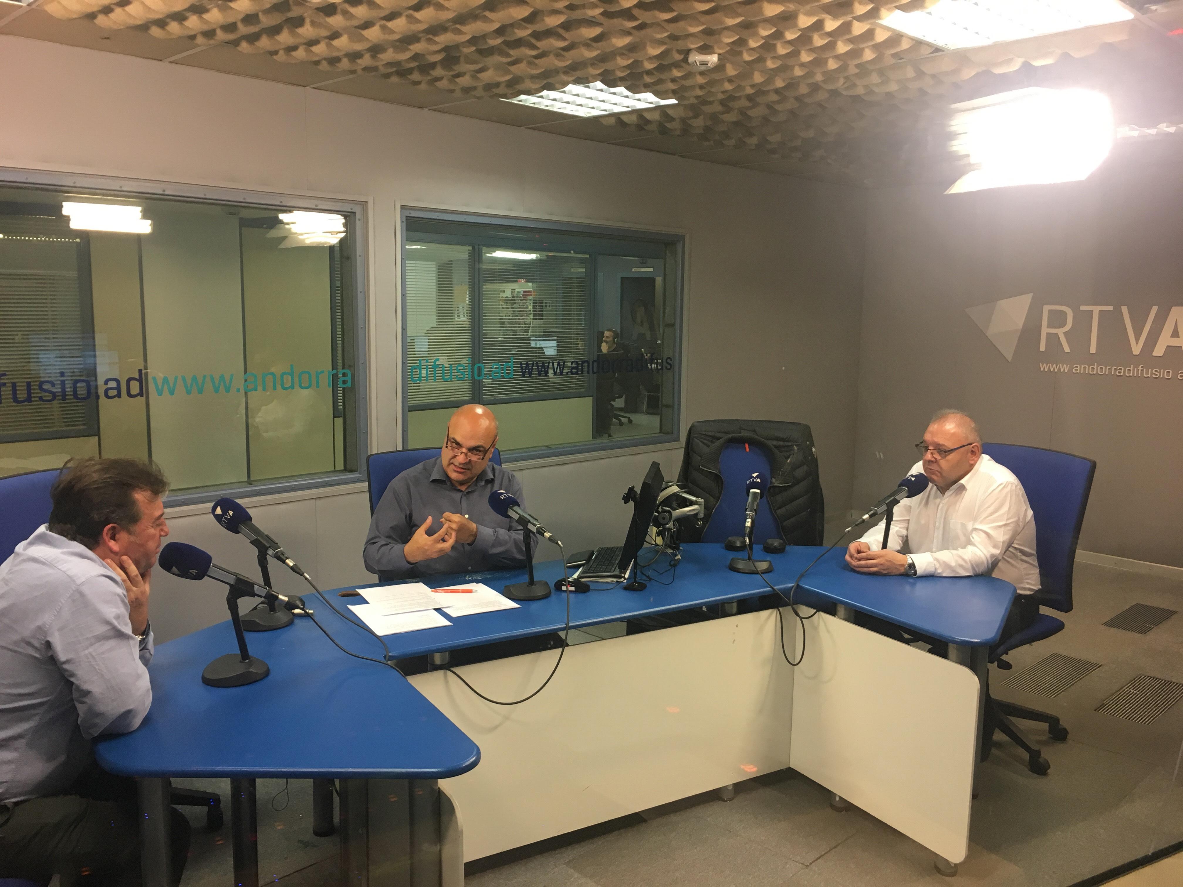 Tertúlia amb Josep Maria Camp i Joan Ramon Sánchez 16 de novembre del 2018