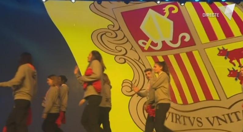 Cerimònia d'inauguració dels Jocs de Montenegro 2019