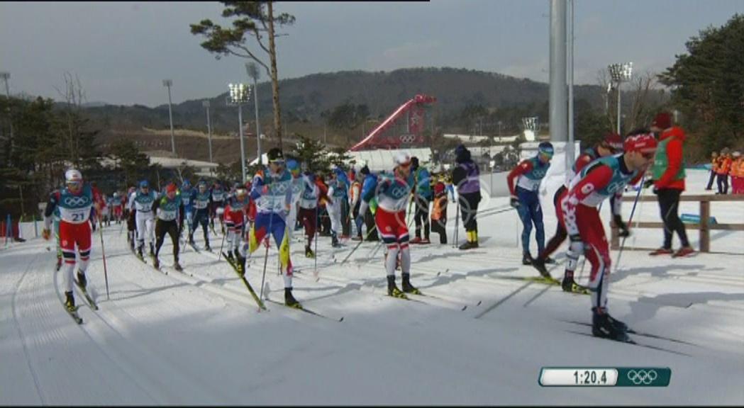 Irineu Esteve tanca els Jocs amb un 34è lloc en els 50 quilòmetres estil clàssic