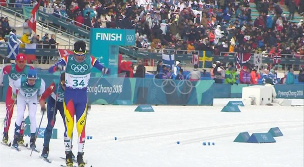 Irineu Esteve valora el 34è lloc als 50 quilòmetres estil clàssic