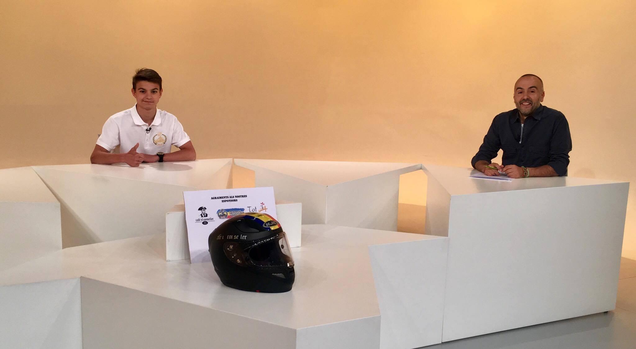 Dia E 3a part - Jordi Raposeiras, promesa del motociclisme andorrà