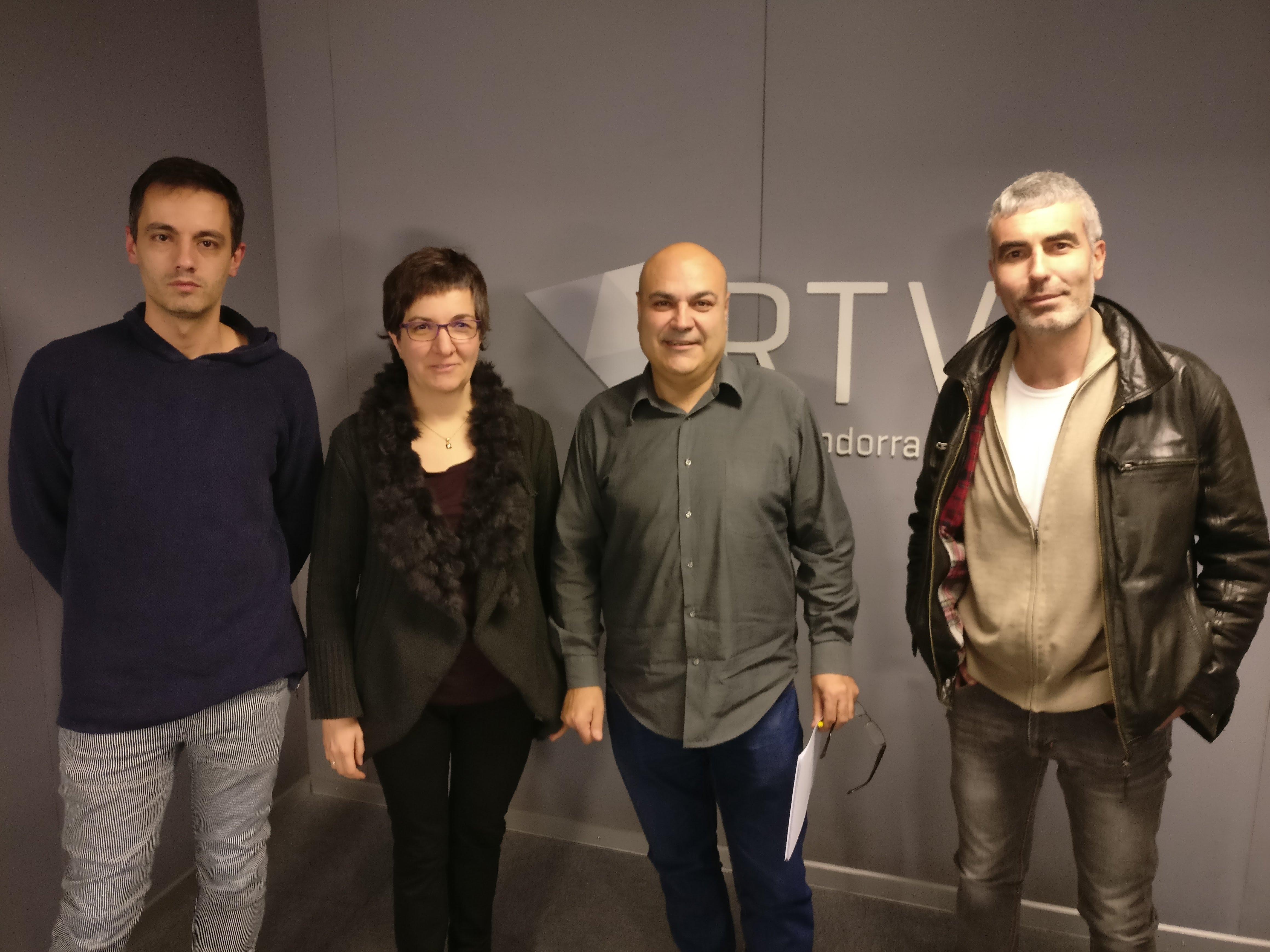 Entrevista a Josep Ramon Tudel, Cèlia Vendrell, Marc Magallón