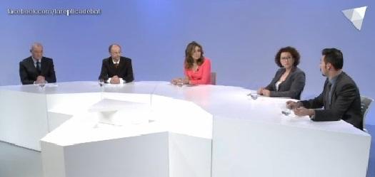 Debat d'actualitat amb Miquel Aleix, Judith Pallarés, Gerard Alís i Víctor Naudi