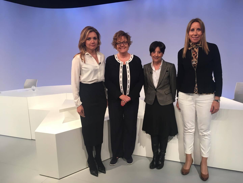 Debat d'actualitat amb Sílvia Bonet, Rosa Ferrer i Montserrat Ronchera