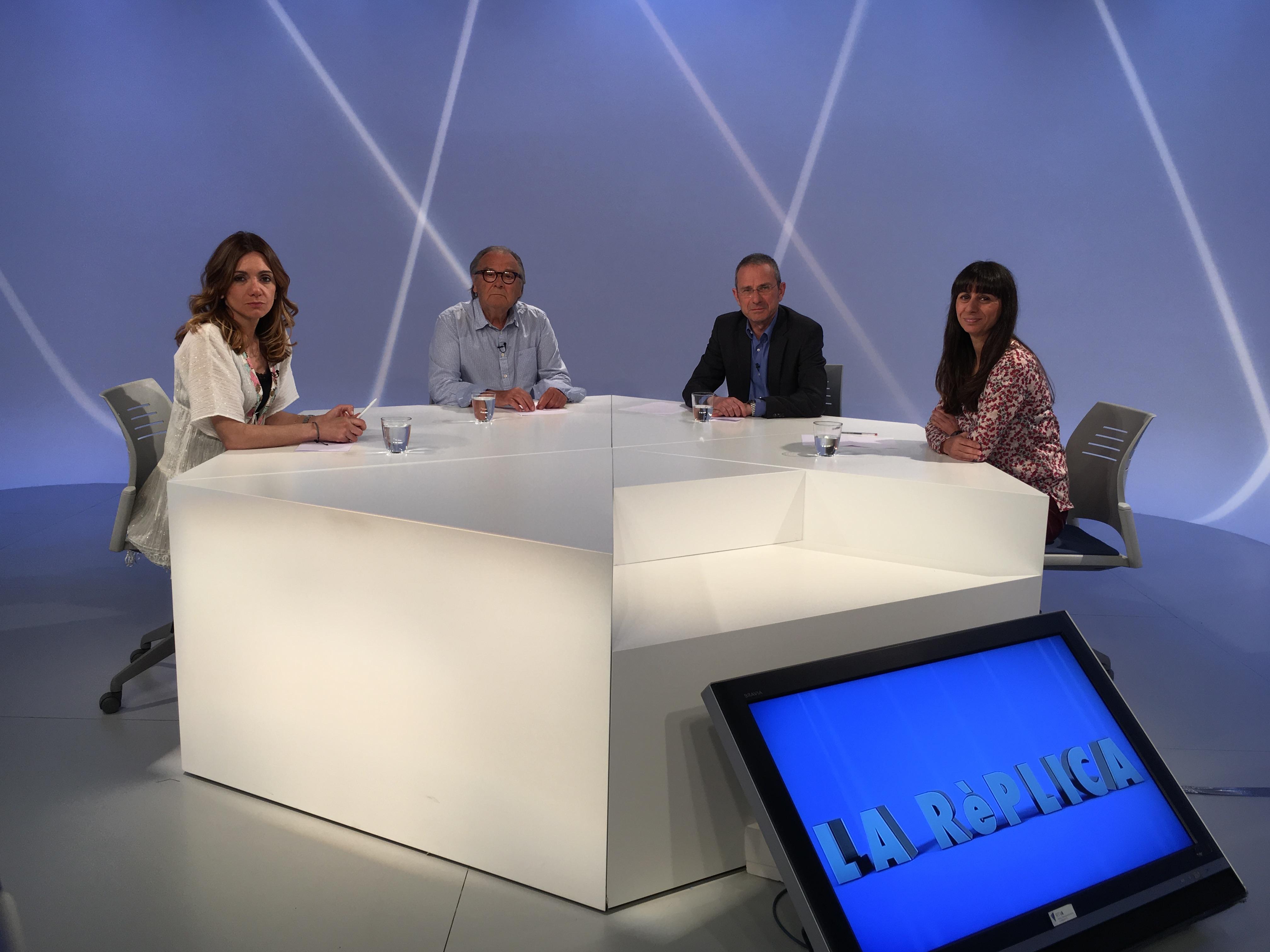 Tertúlia  amb Marisol Fuentes, Paco Ruano i Ignasi de Planell