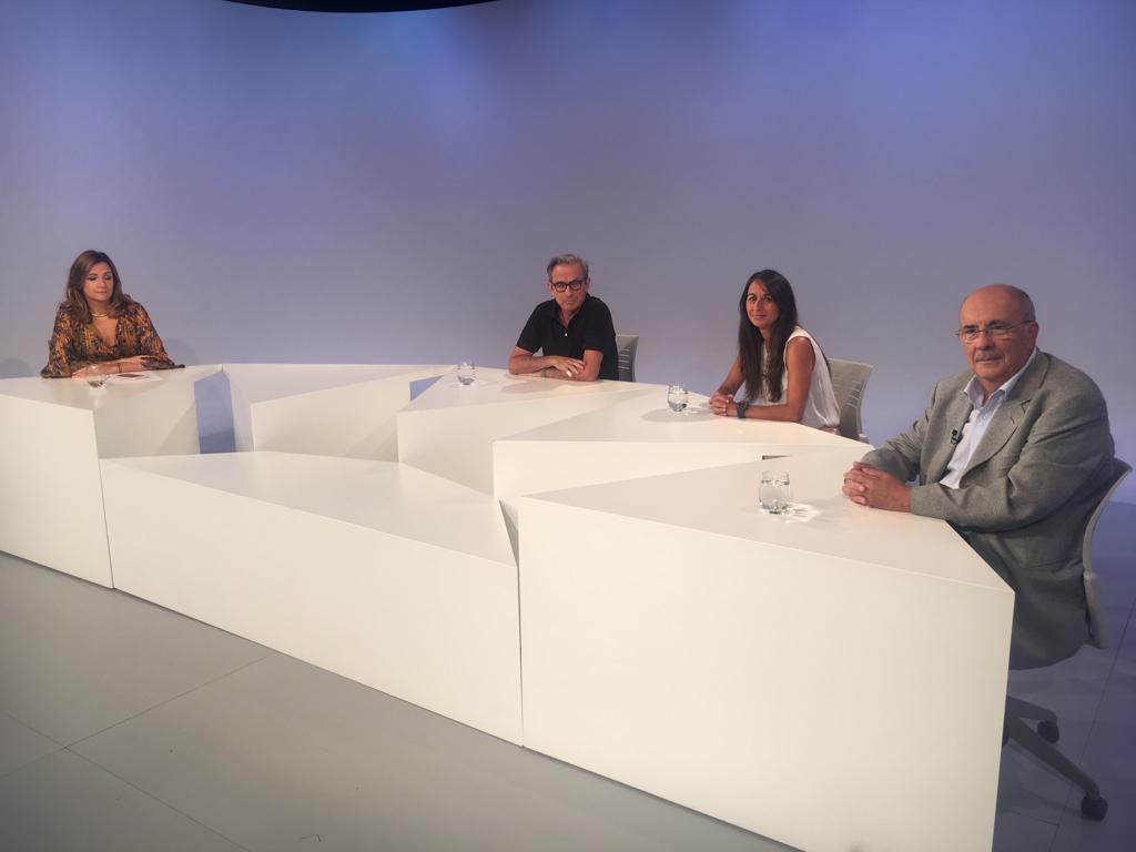 Taula rodona d'actualitat política, amb Ignasi de Planell, Marisol Fuentes i Gualbert Osorio