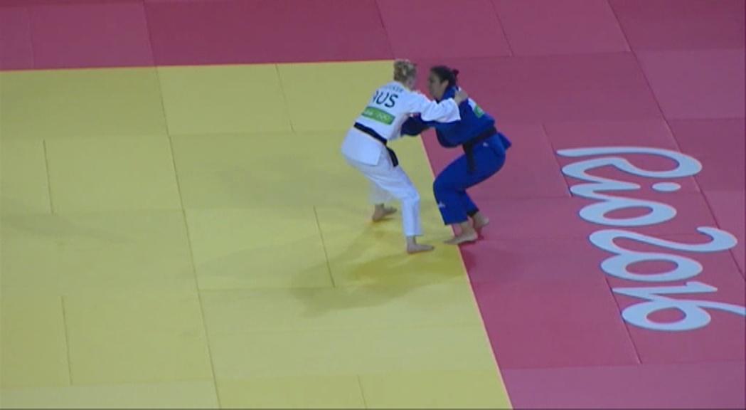 Laura Sallés perd el combat contra la tricampiona d'Oceania en el seu debut a uns Jocs i anuncia la retirada