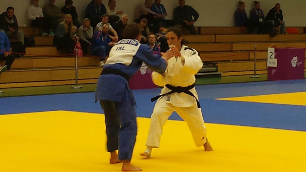 La judoca Laura Sallés aconsegueix el primer or d'Andorra