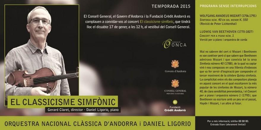 l'Onca engega temporada amb classicisime simfònic